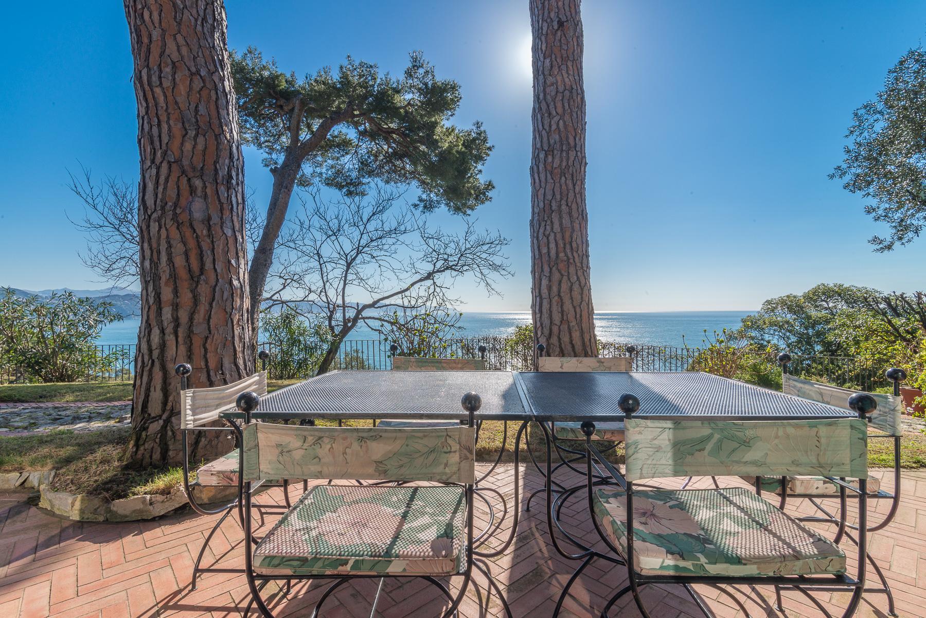 可俯瞰Portofino海湾的优雅别墅 - 9