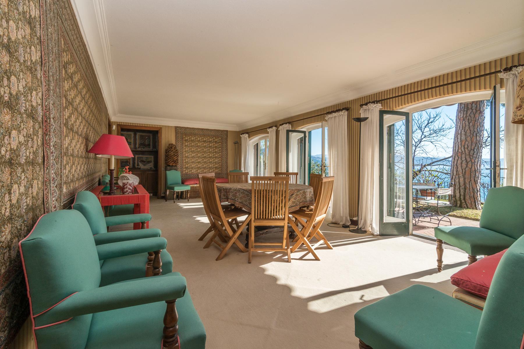 可俯瞰Portofino海湾的优雅别墅 - 10
