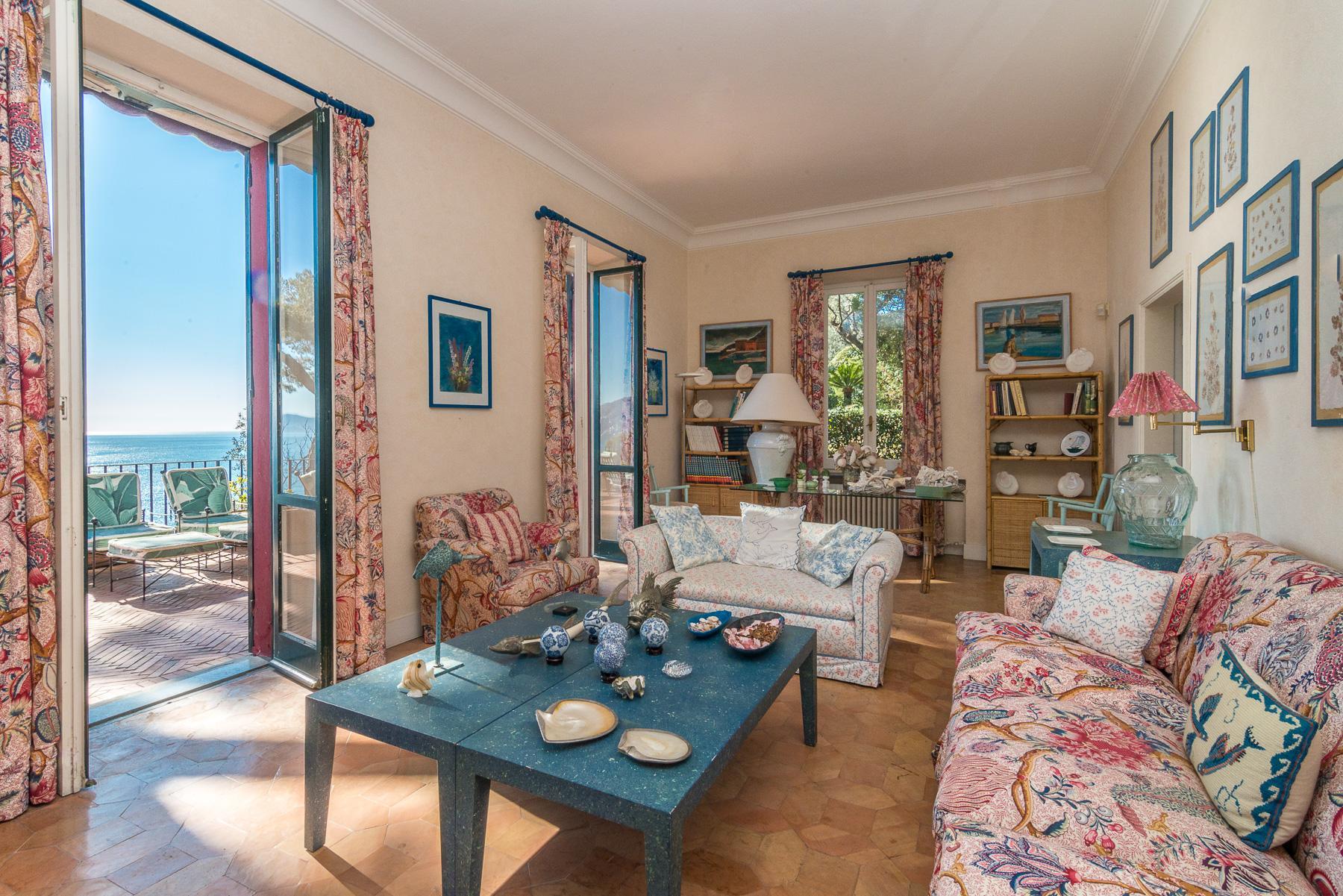 可俯瞰Portofino海湾的优雅别墅 - 12