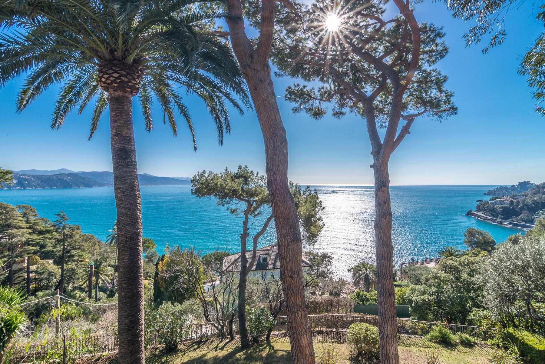 可俯瞰Portofino海湾的优雅别墅 - 13