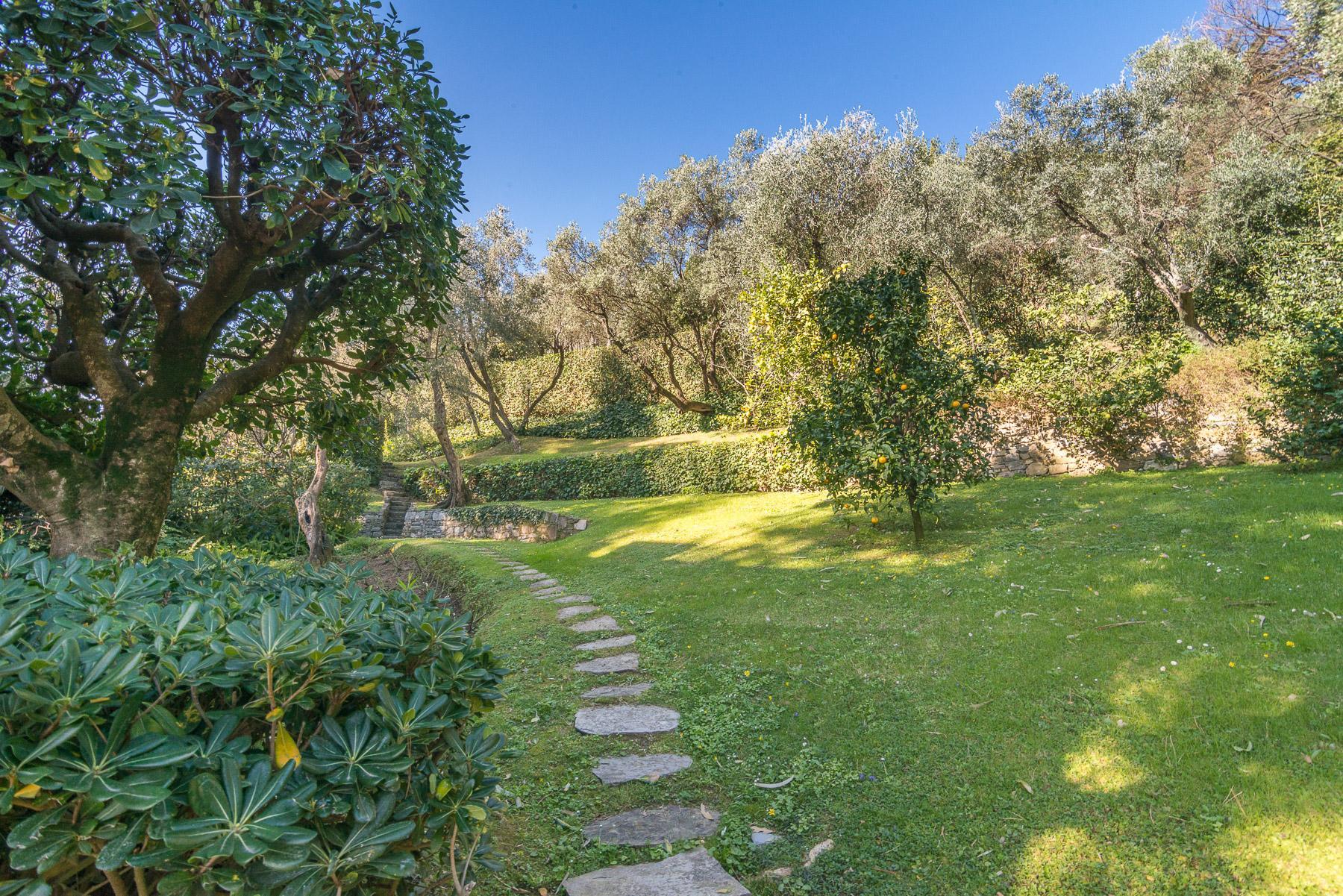 可俯瞰Portofino海湾的优雅别墅 - 15