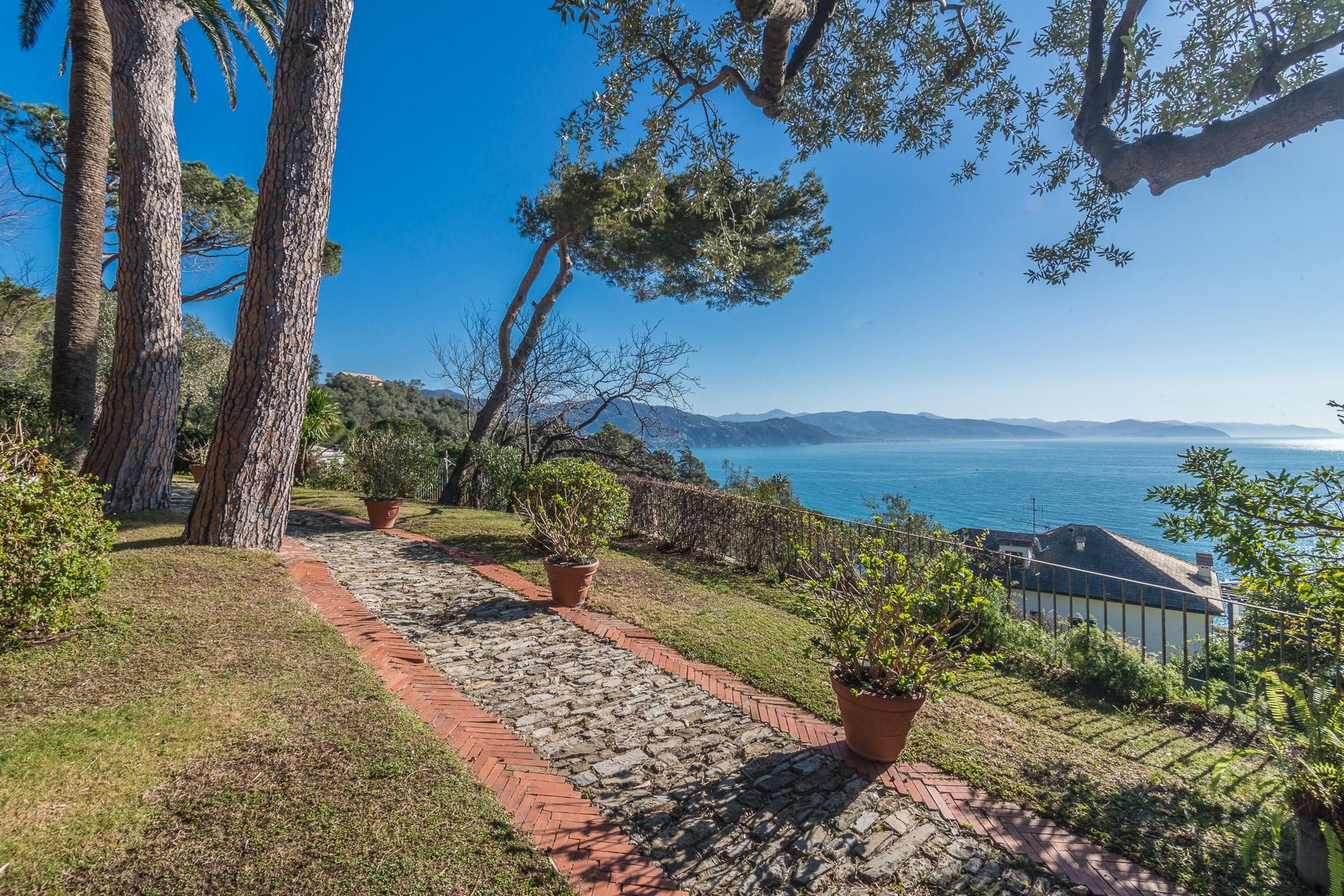 可俯瞰Portofino海湾的优雅别墅 - 17