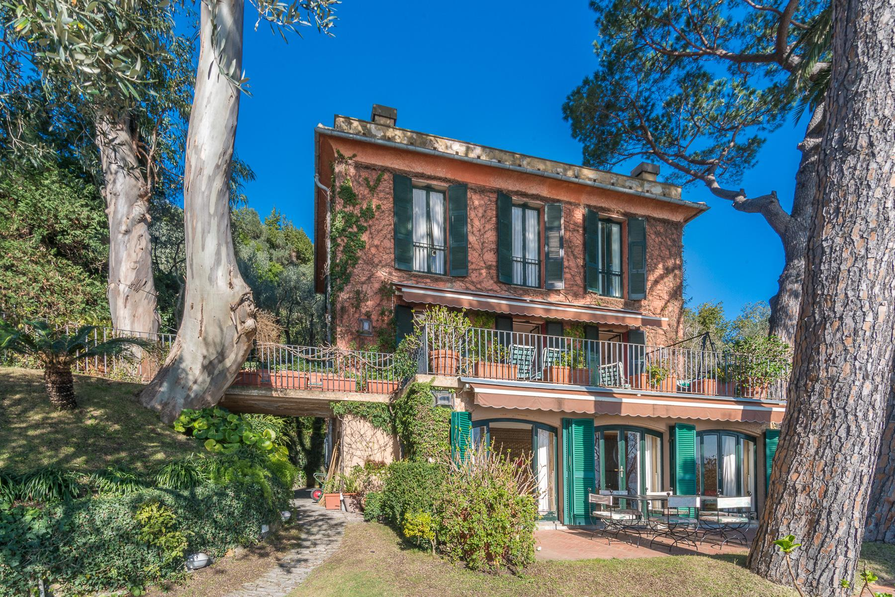 可俯瞰Portofino海湾的优雅别墅 - 18