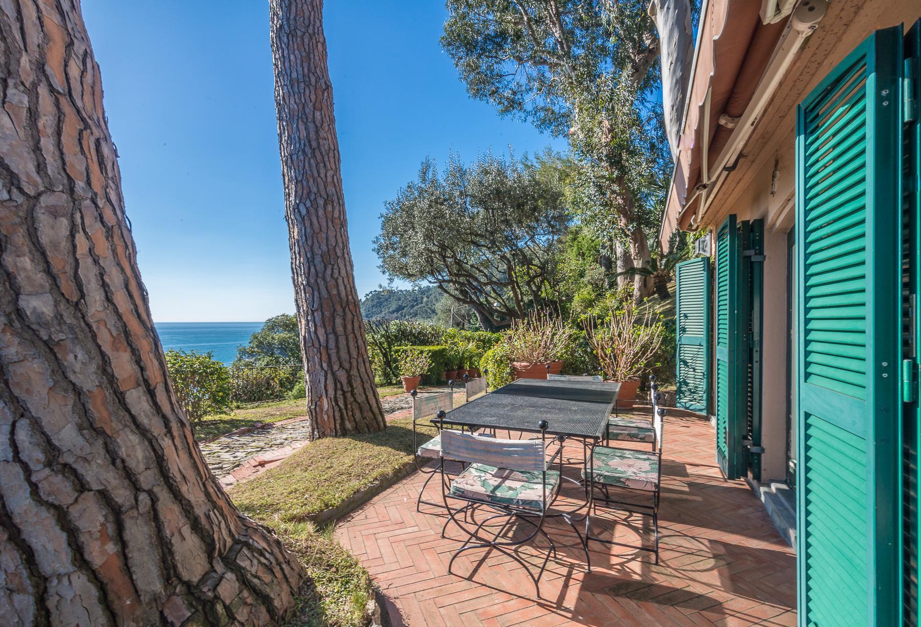 可俯瞰Portofino海湾的优雅别墅 - 23