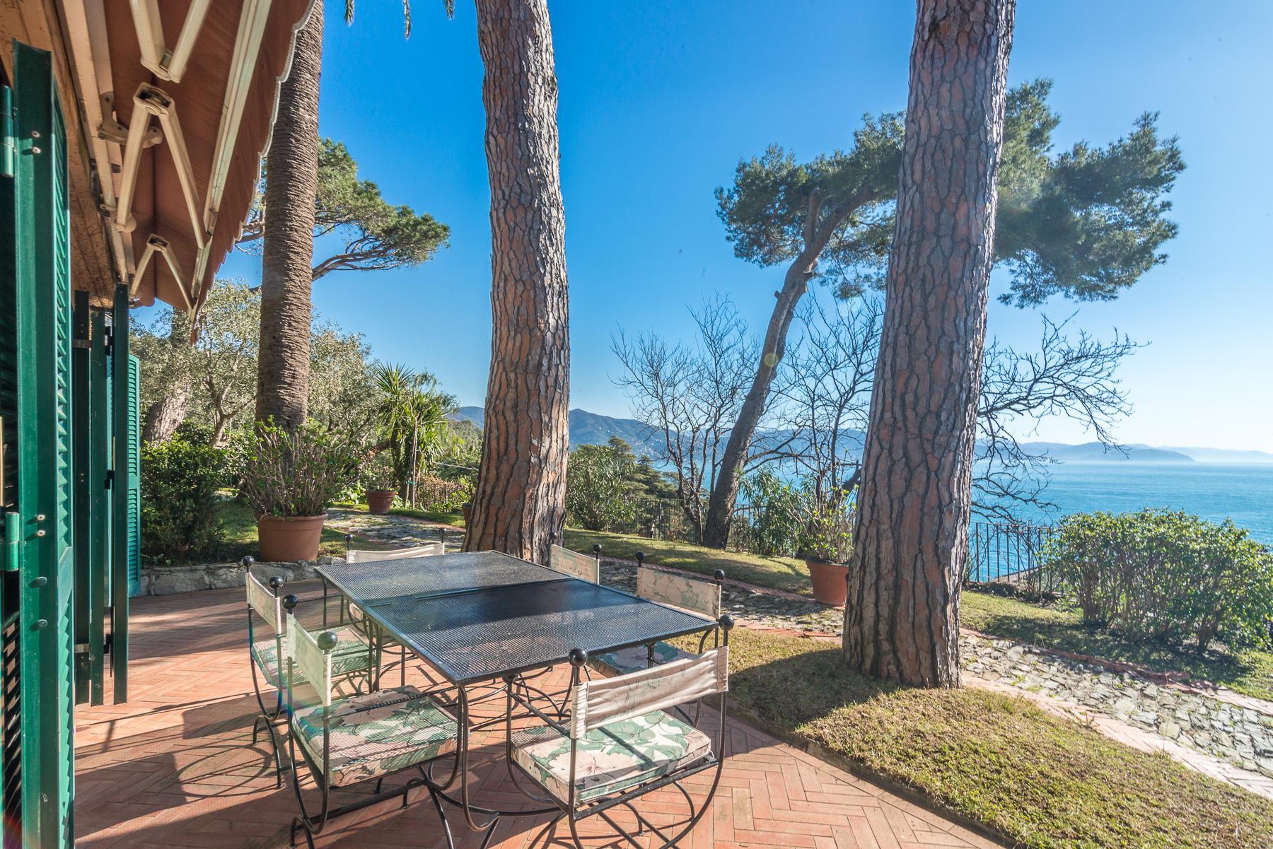 可俯瞰Portofino海湾的优雅别墅 - 24