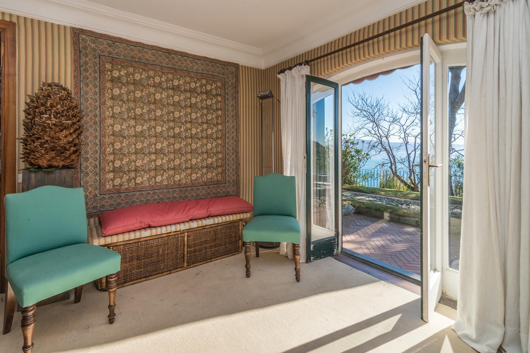 可俯瞰Portofino海湾的优雅别墅 - 26