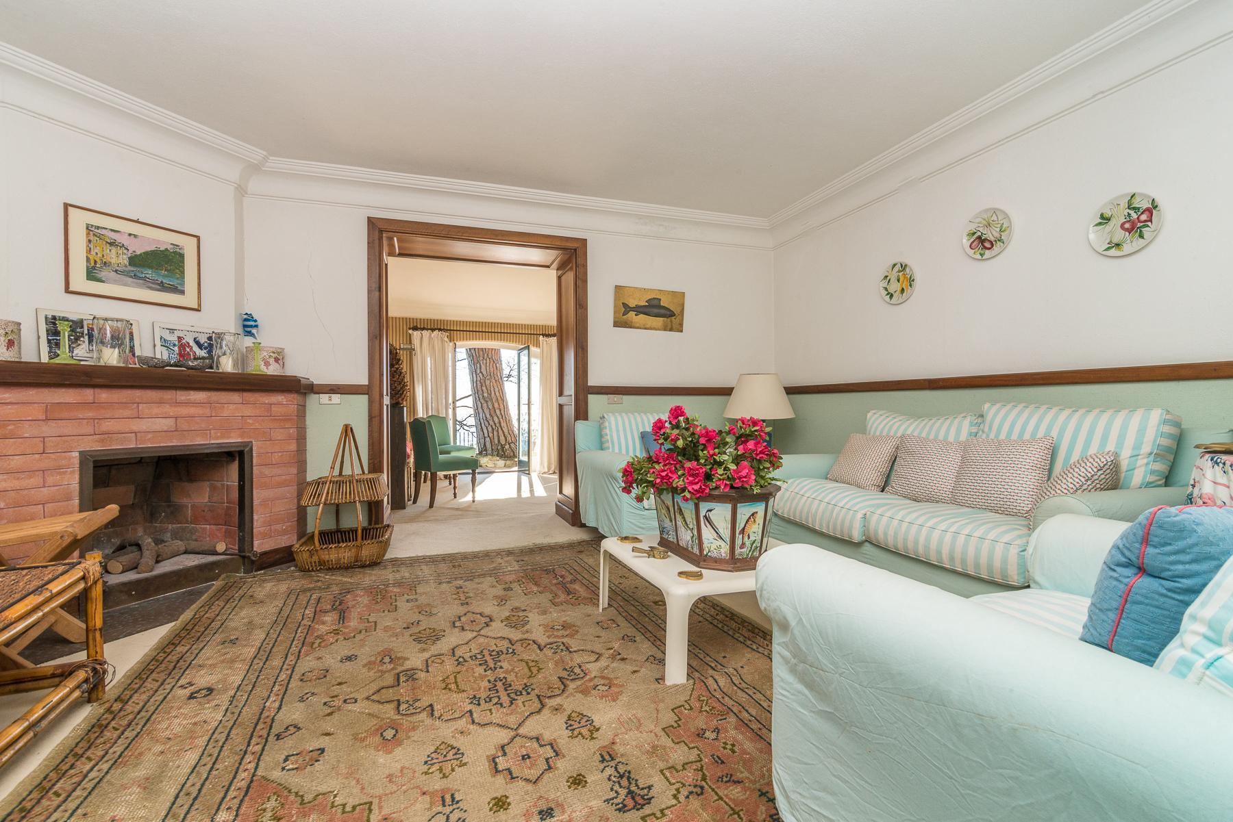 可俯瞰Portofino海湾的优雅别墅 - 27