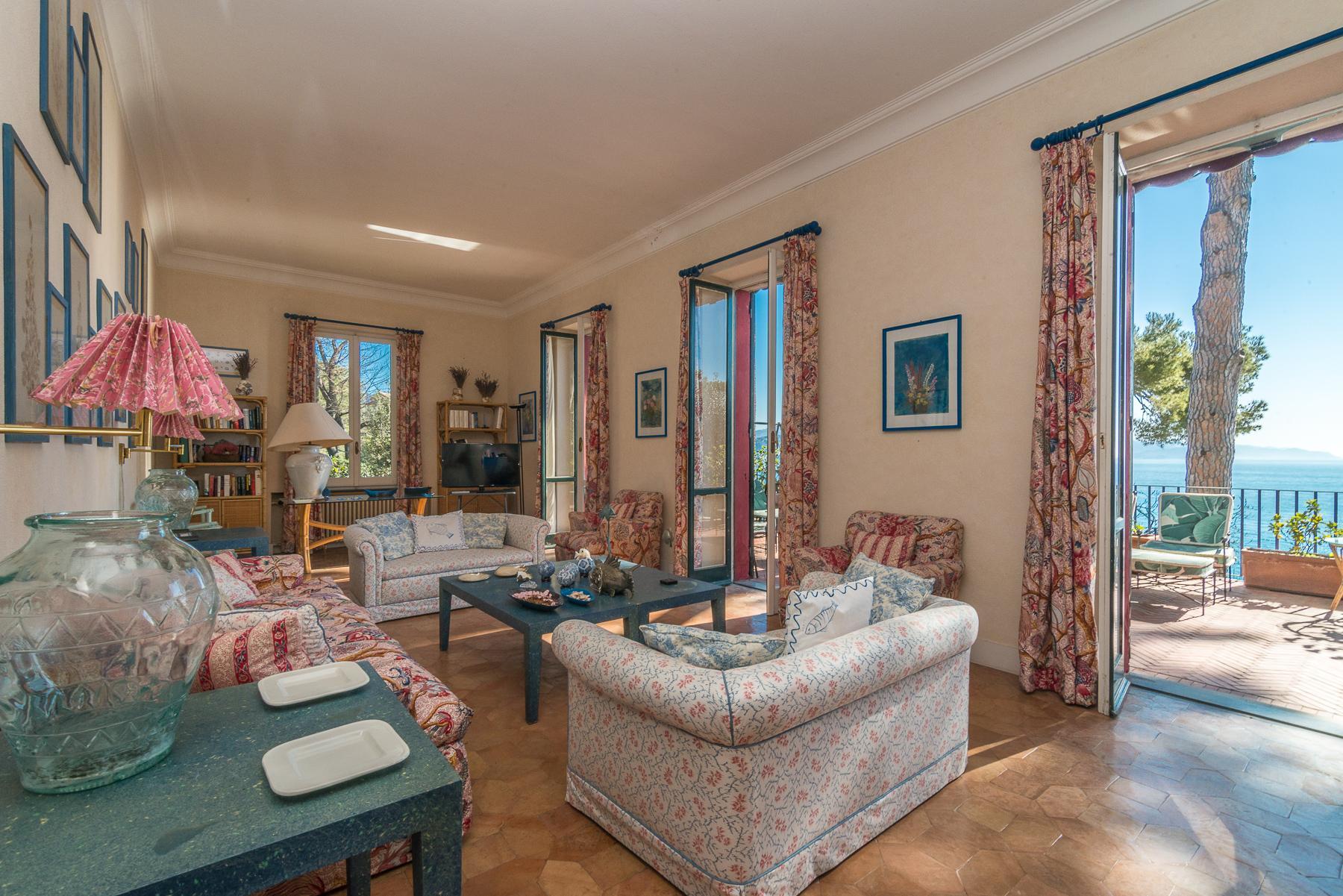 可俯瞰Portofino海湾的优雅别墅 - 28