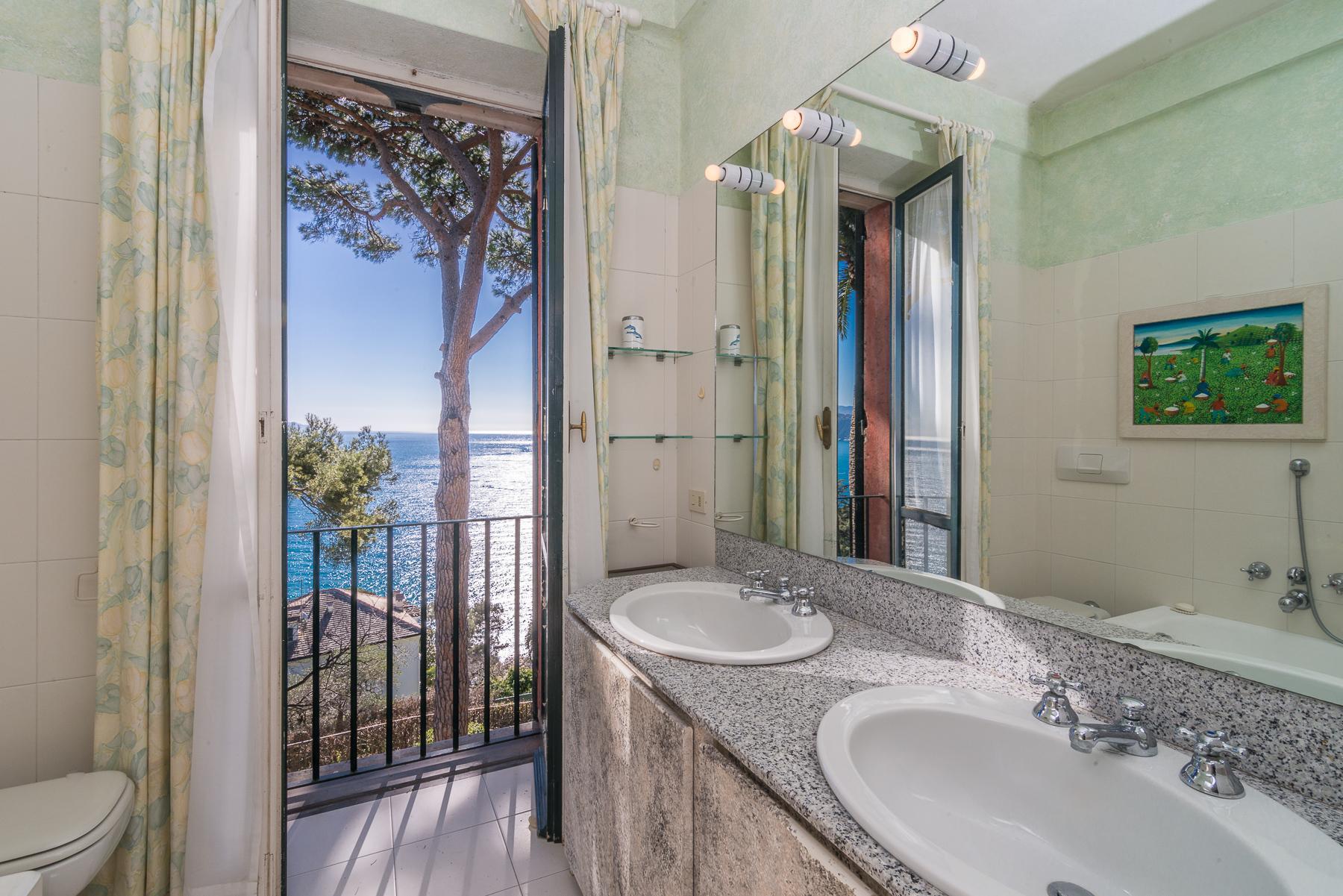 可俯瞰Portofino海湾的优雅别墅 - 31