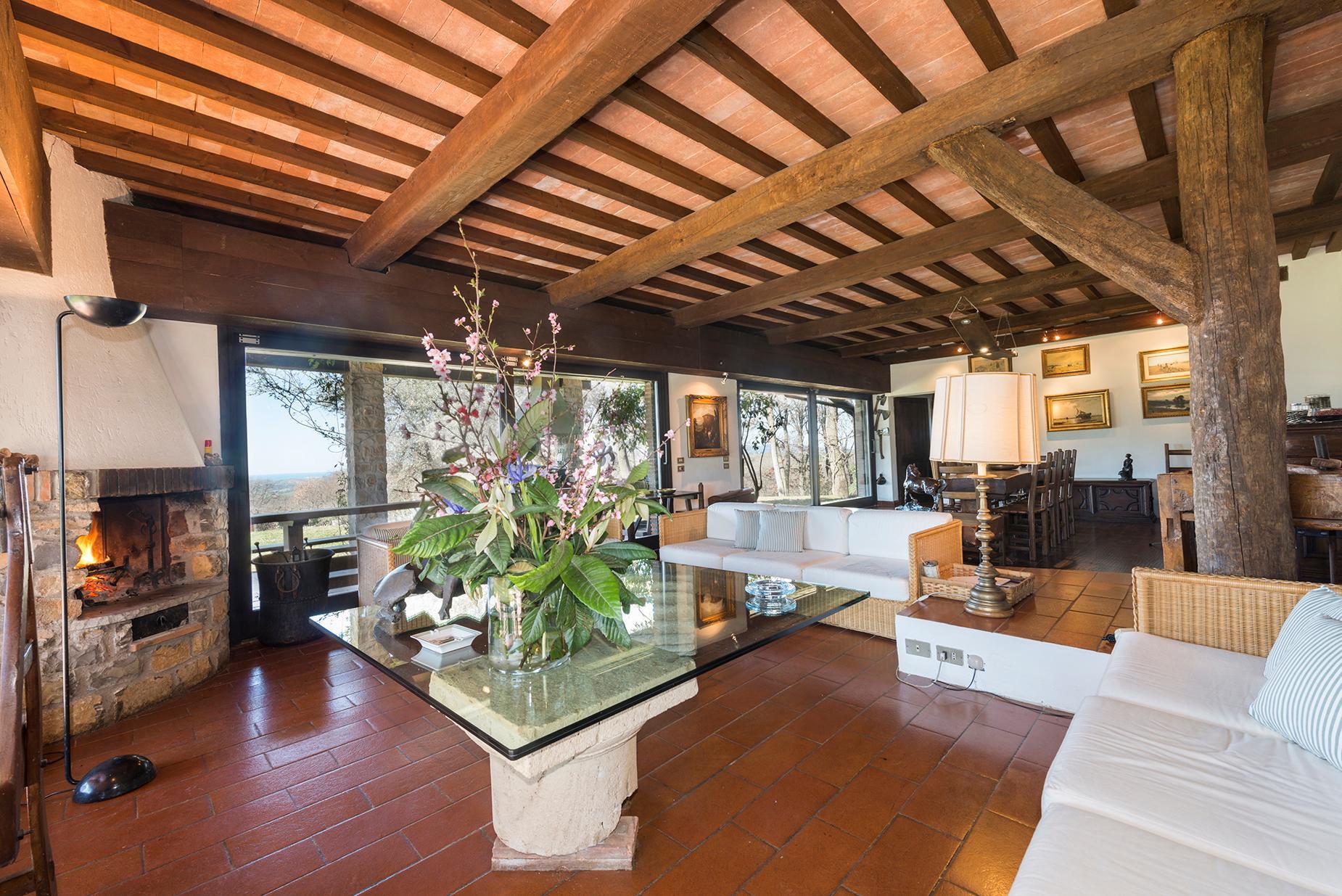 Wunderschöne Villa mit atemberaubenden Blicken auf den Monte Argentario - 5