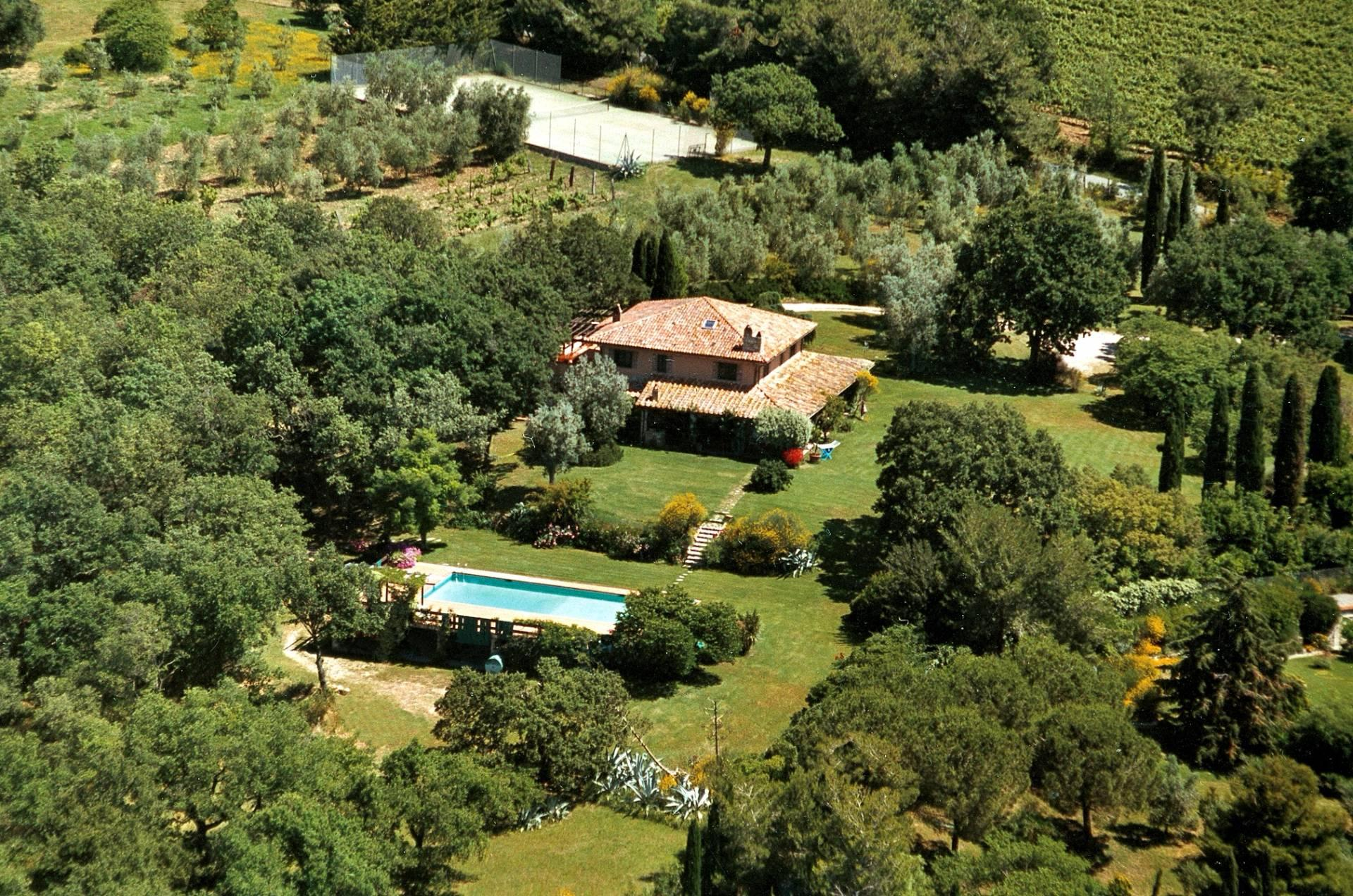Превосходная вилла с видом на море и Монте-Арджентарио, Тоскана, Италия - 1