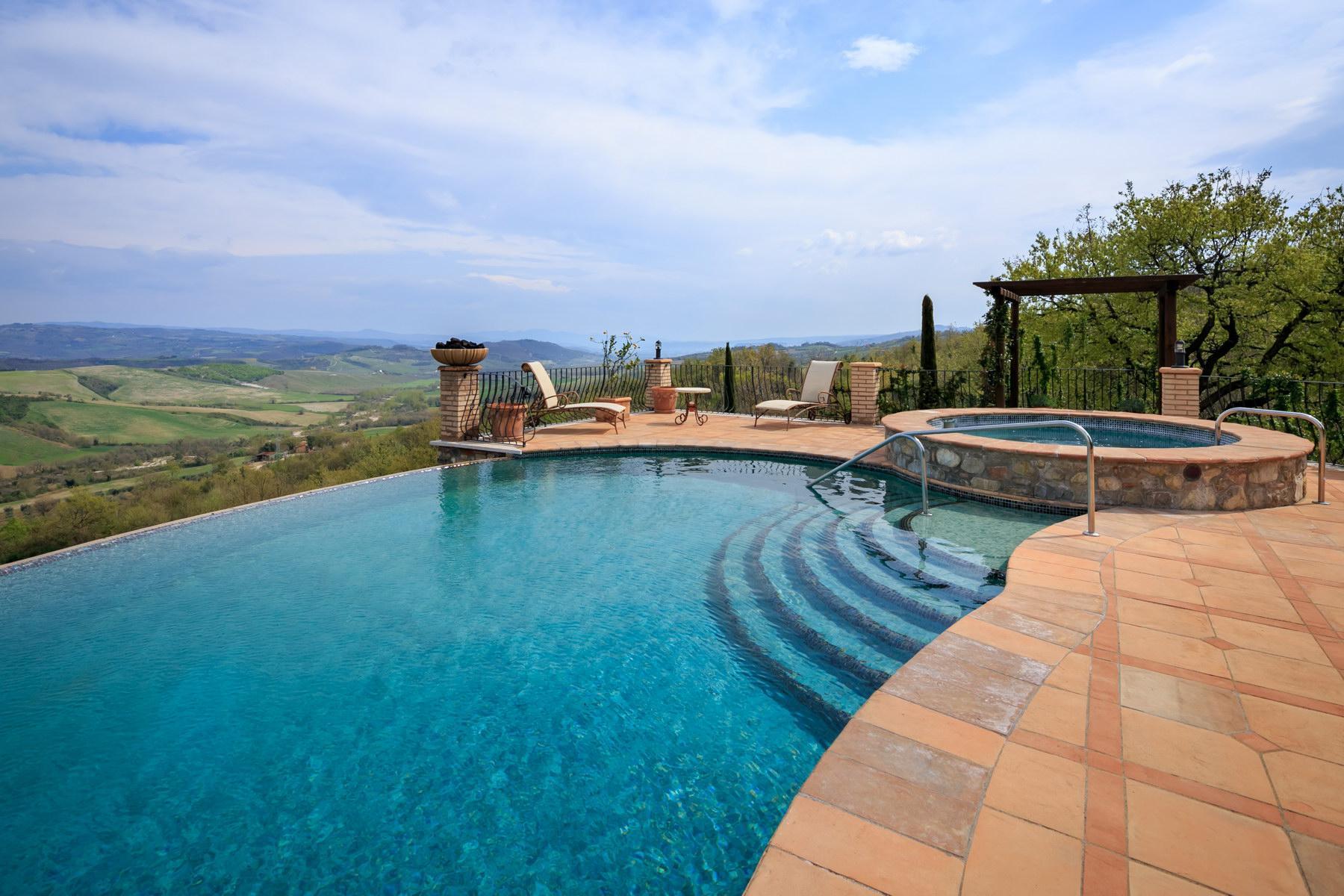 Восхитительная усадьба с бассейном и живописными видами холмов, Умбрия, Италия - 3