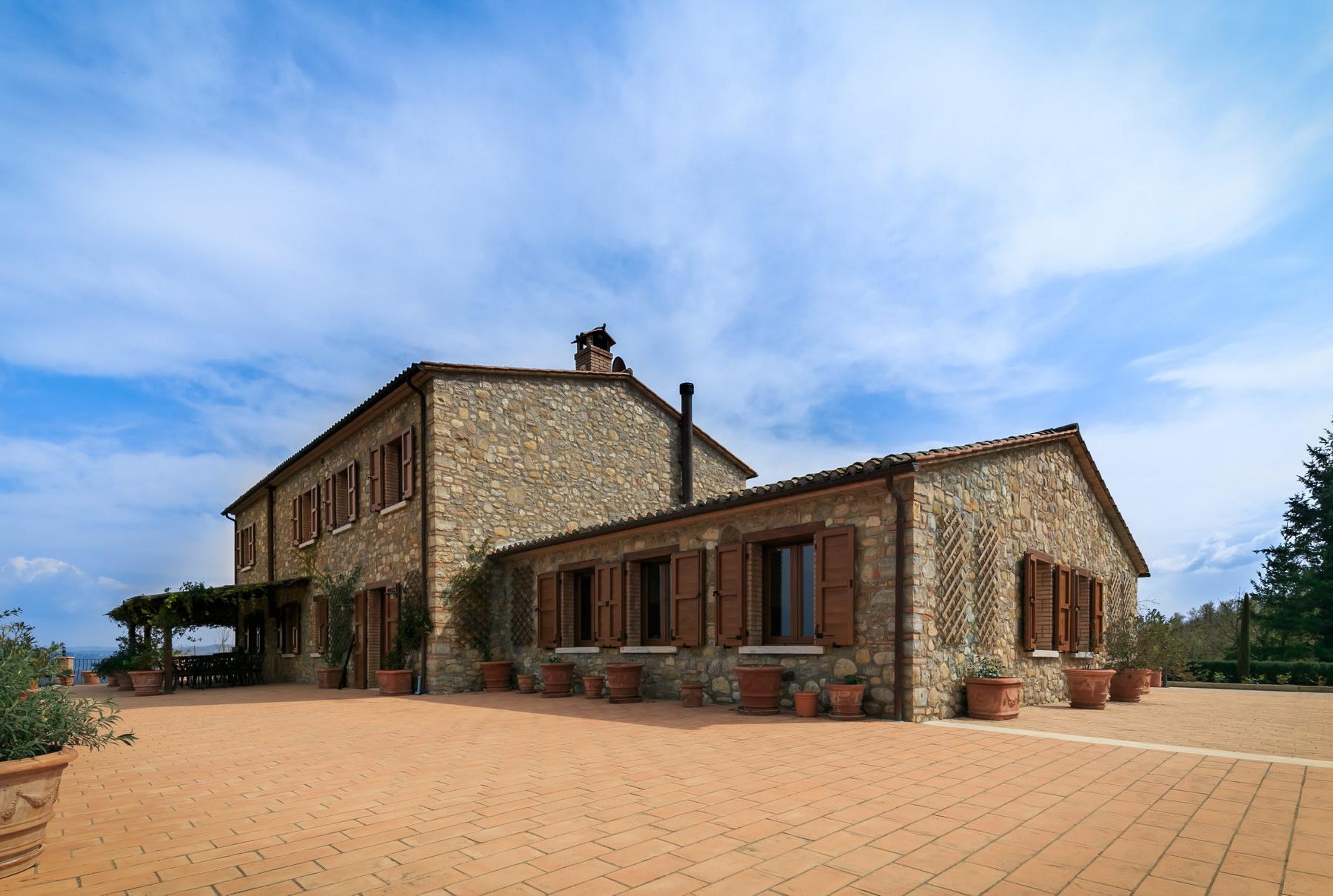 坐落在Umbria山丘的绝美农舍 - 12