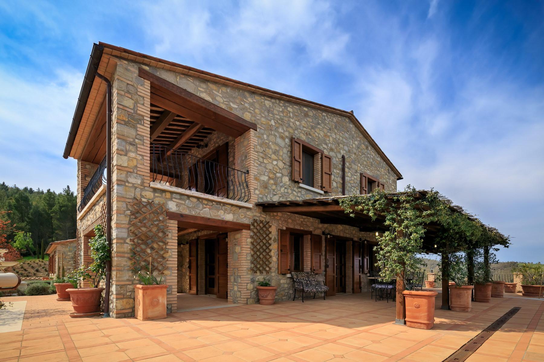 坐落在Umbria山丘的绝美农舍 - 13