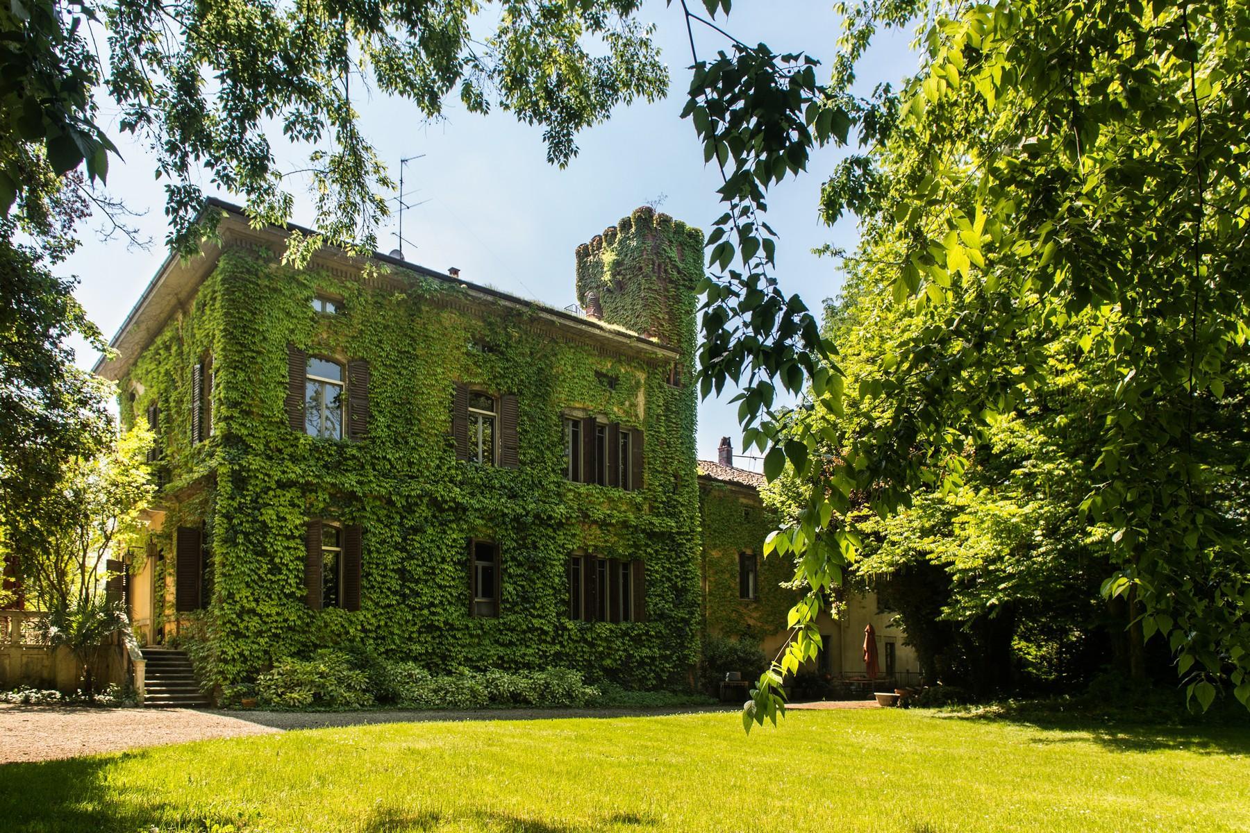 位于Cremona乡村内且拥有大公园的历史久远的别墅 - 10