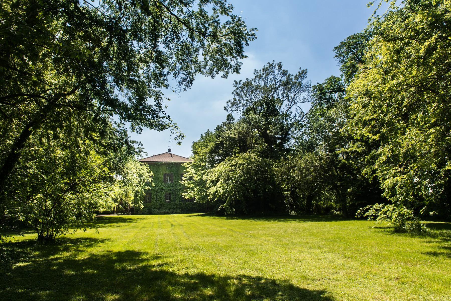 位于Cremona乡村内且拥有大公园的历史久远的别墅 - 8