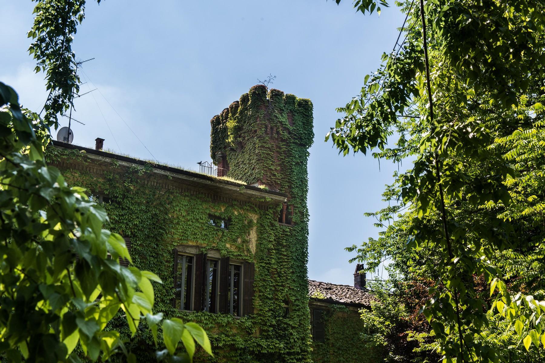 位于Cremona乡村内且拥有大公园的历史久远的别墅 - 9
