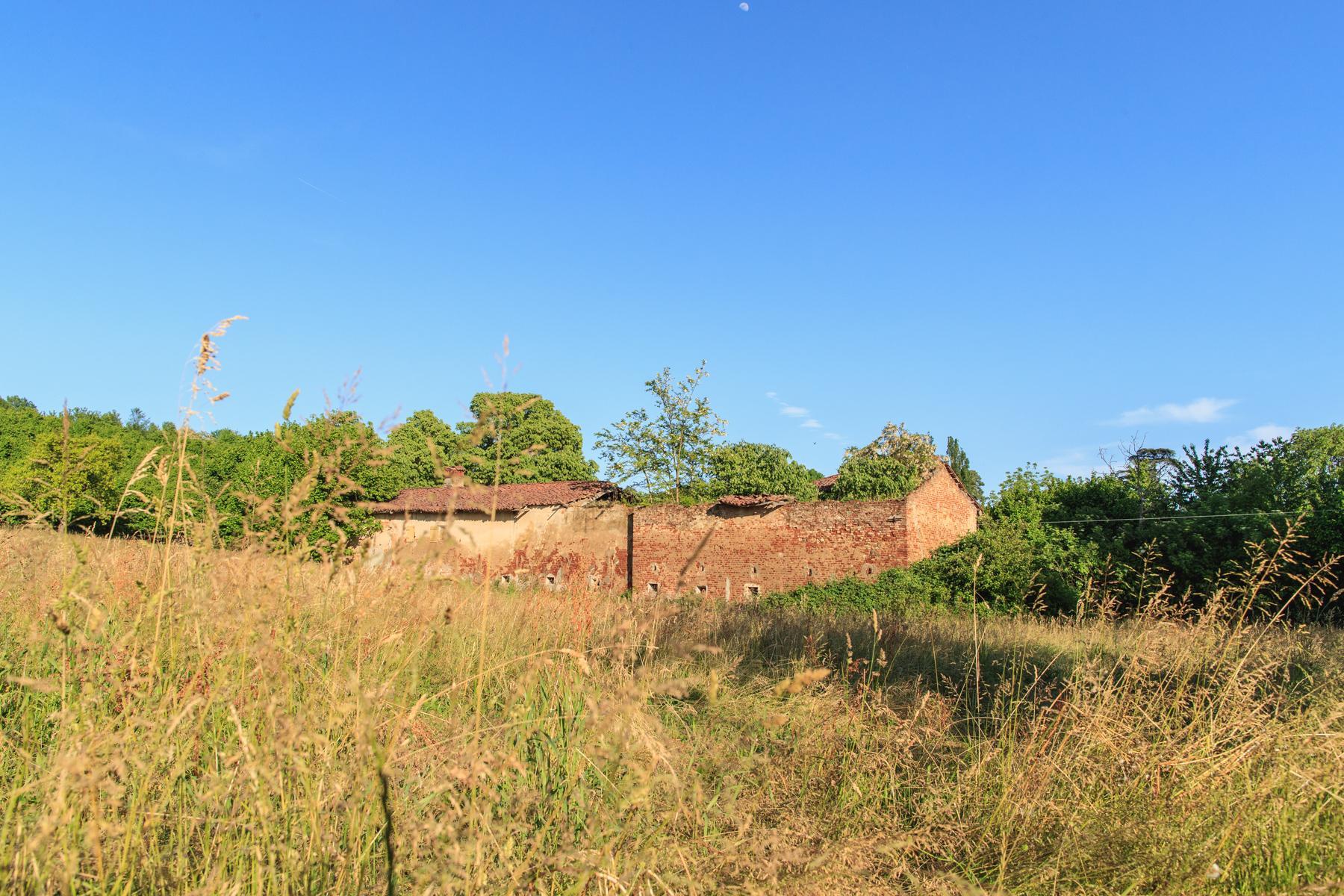 Antikes Bauernhaus auf dem Land Turins - 5