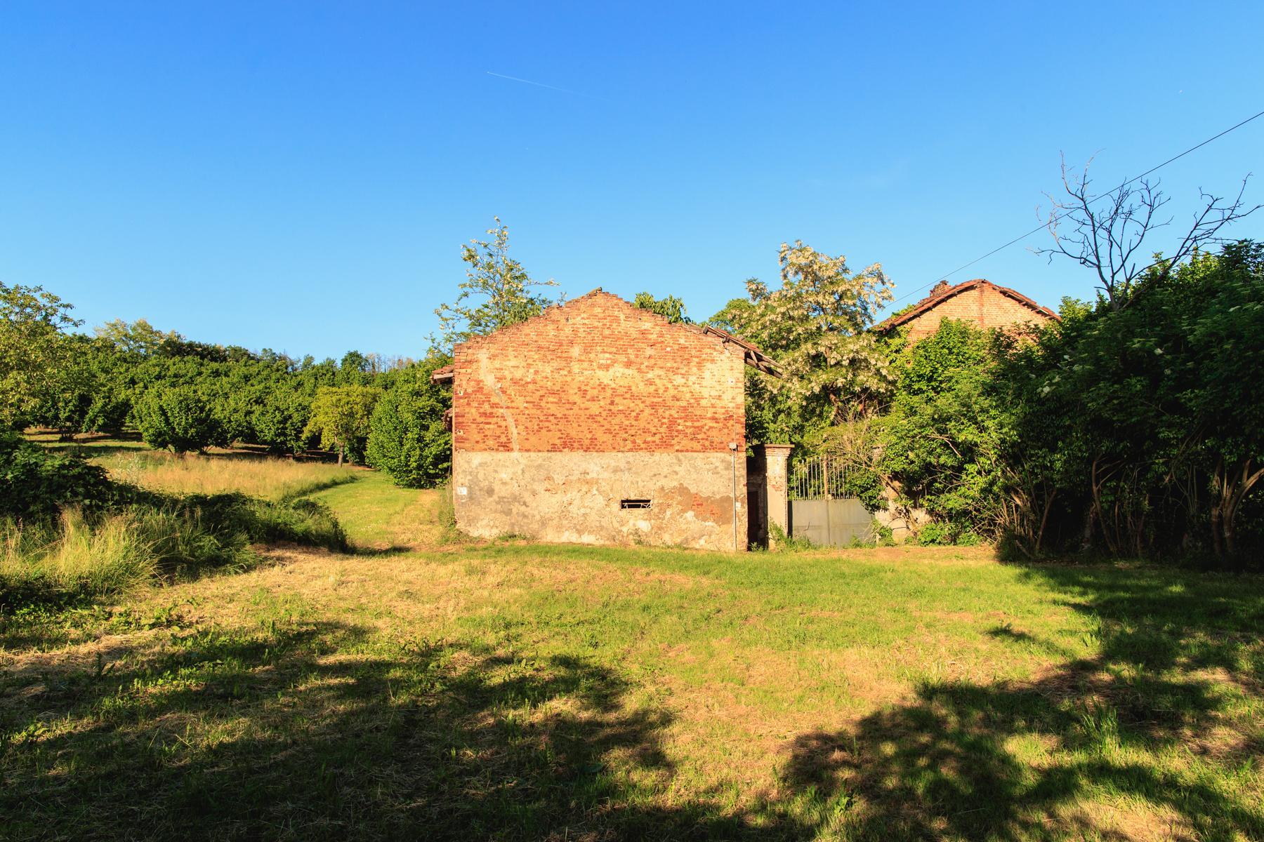 Antikes Bauernhaus auf dem Land Turins - 6