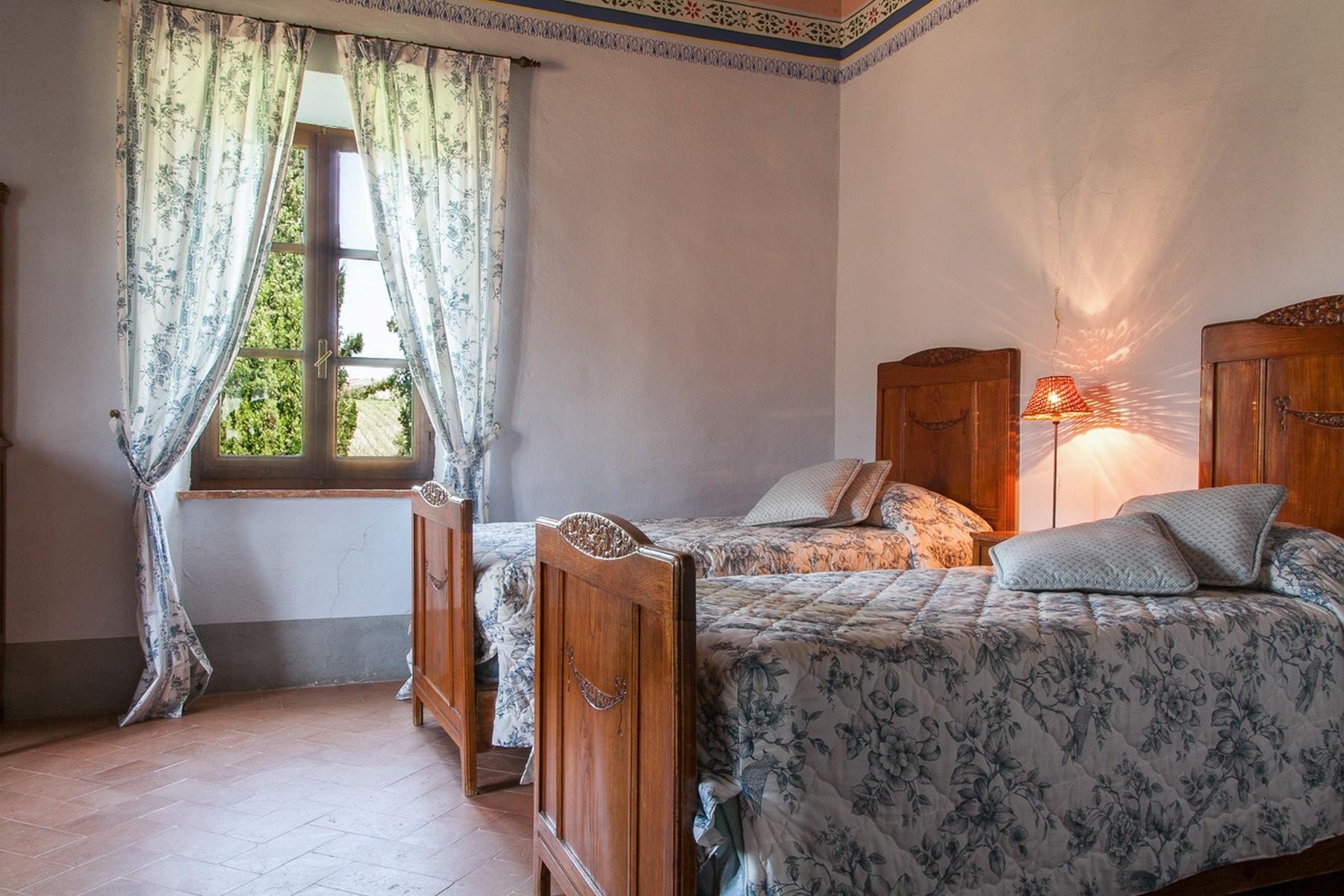 来自16世纪锡耶纳乡村优雅而古典的农舍 - 19