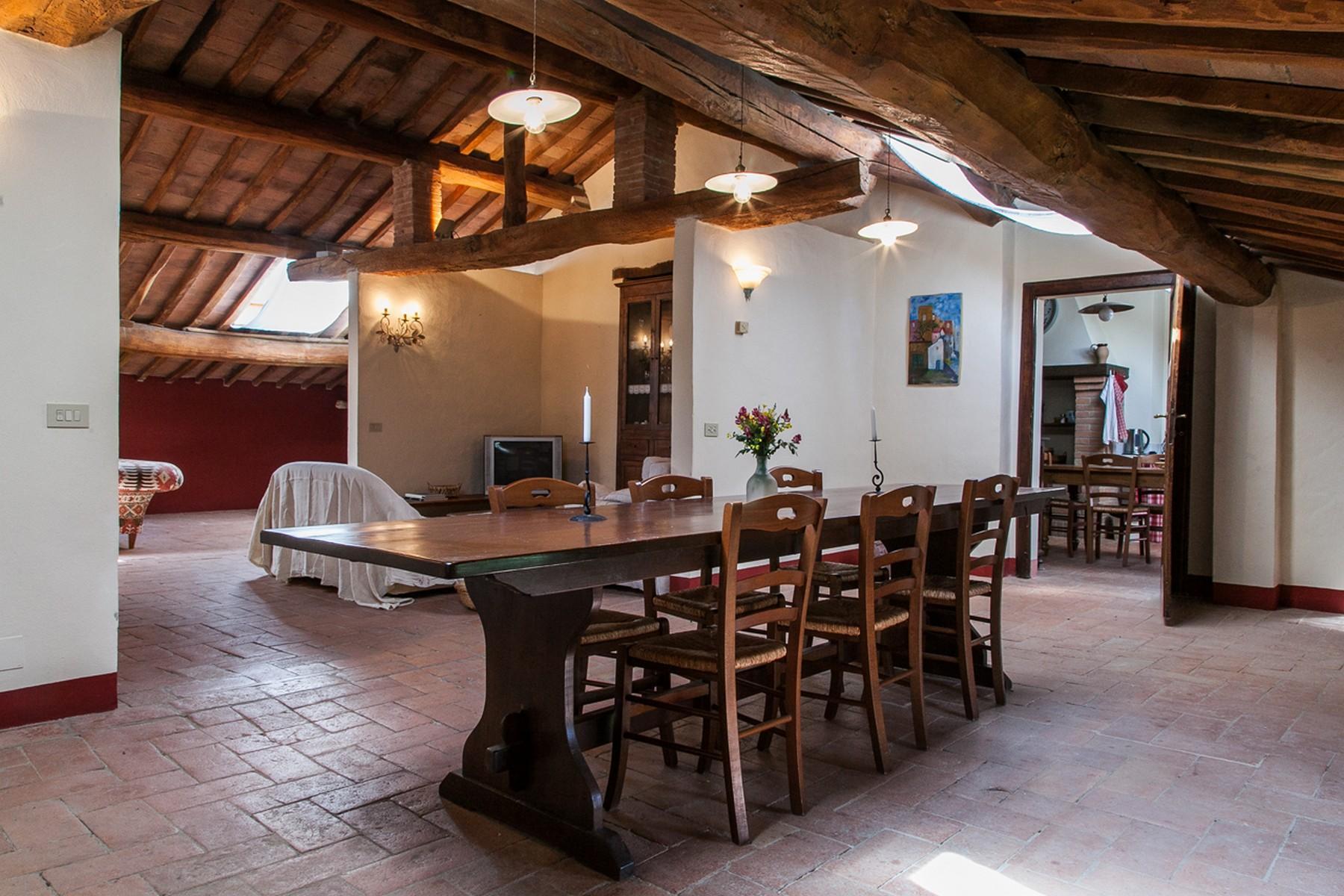 来自16世纪锡耶纳乡村优雅而古典的农舍 - 13