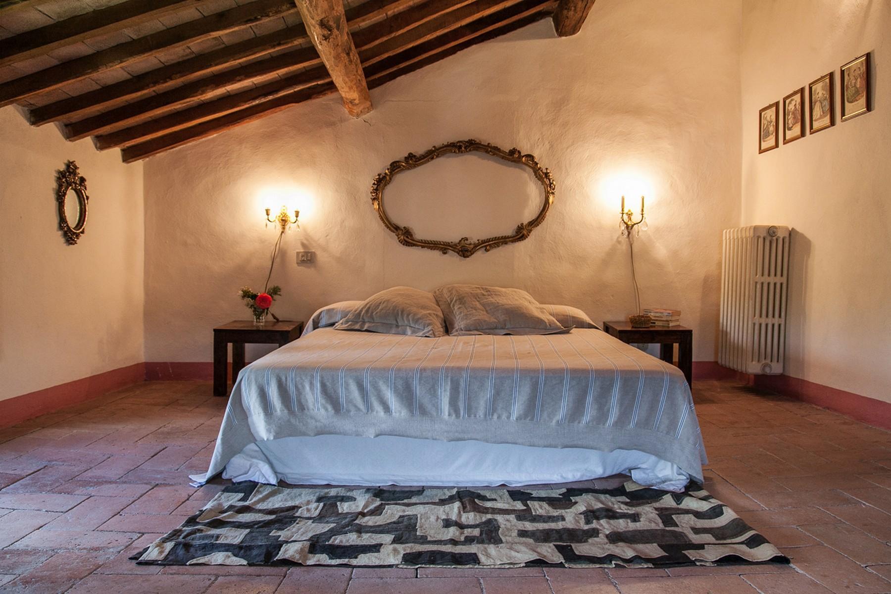 来自16世纪锡耶纳乡村优雅而古典的农舍 - 21