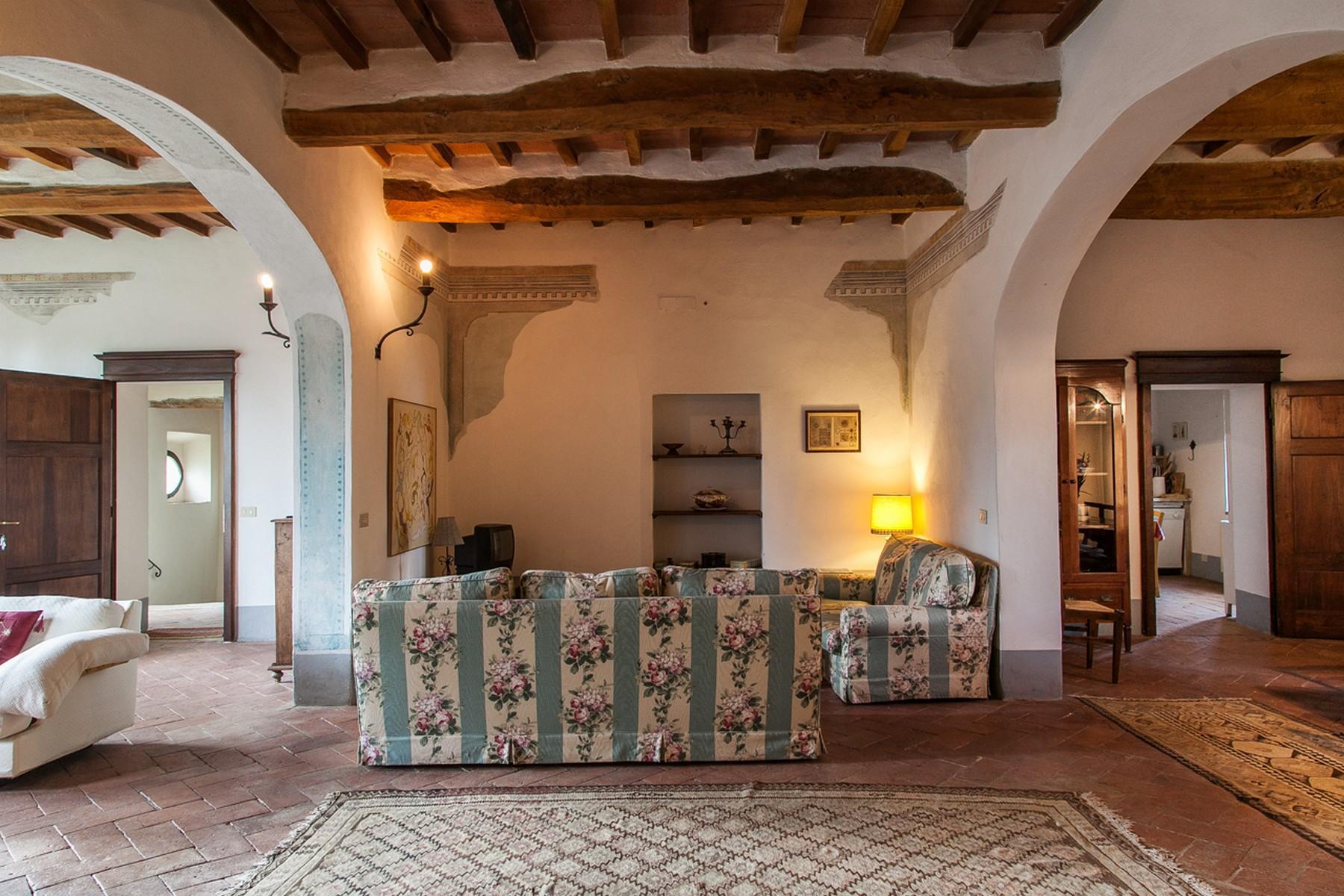 来自16世纪锡耶纳乡村优雅而古典的农舍 - 12