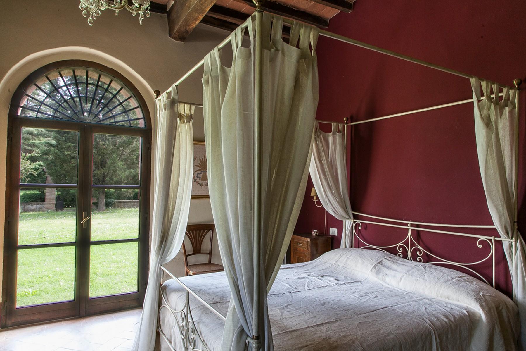 来自16世纪锡耶纳乡村优雅而古典的农舍 - 24