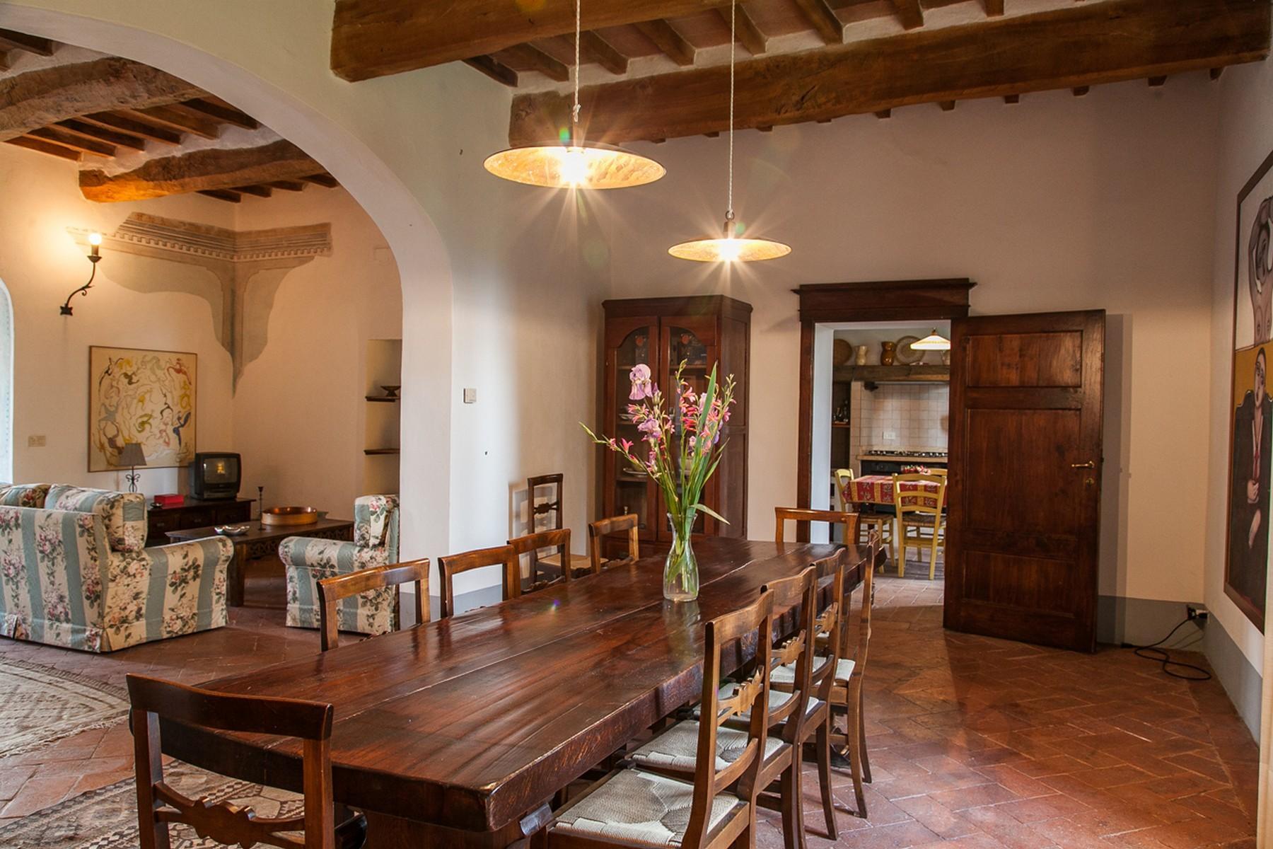 来自16世纪锡耶纳乡村优雅而古典的农舍 - 14