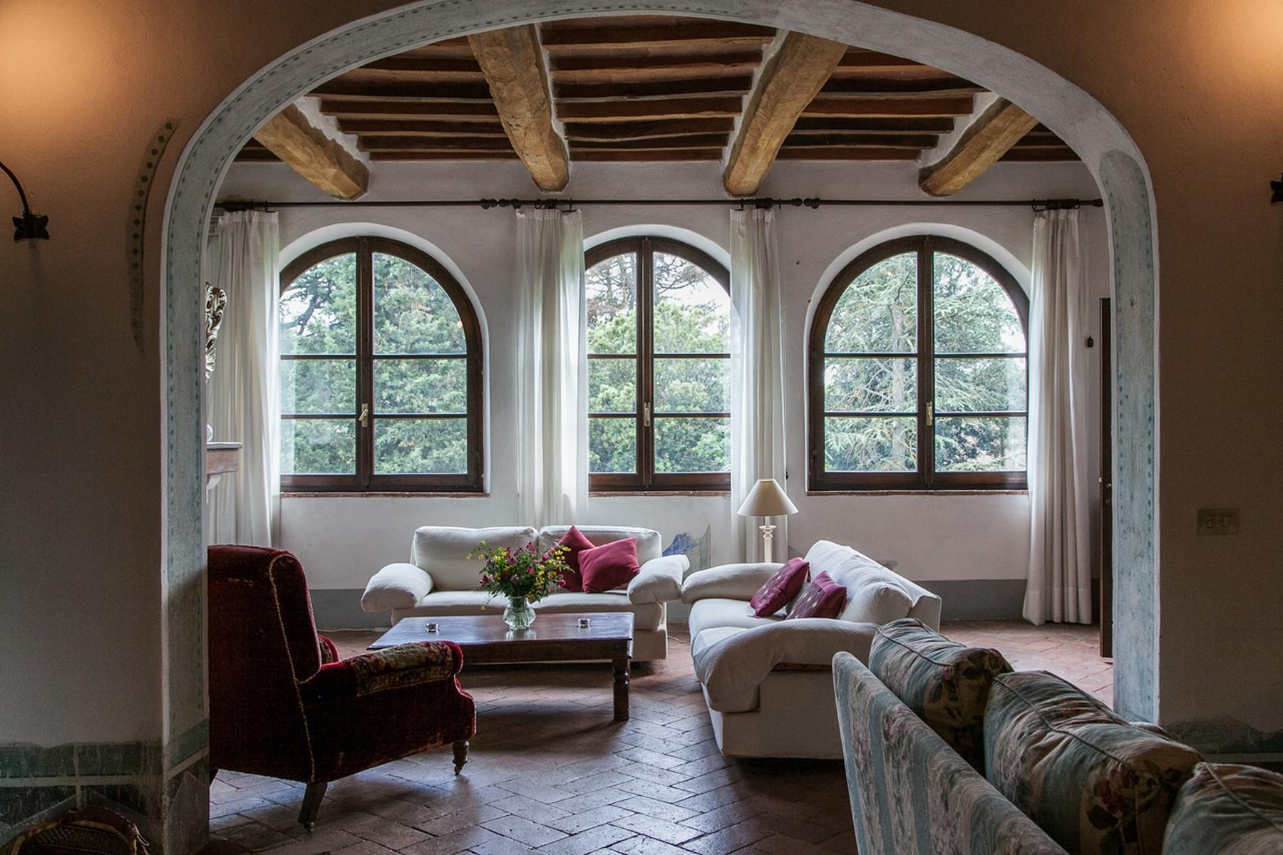 来自16世纪锡耶纳乡村优雅而古典的农舍 - 11