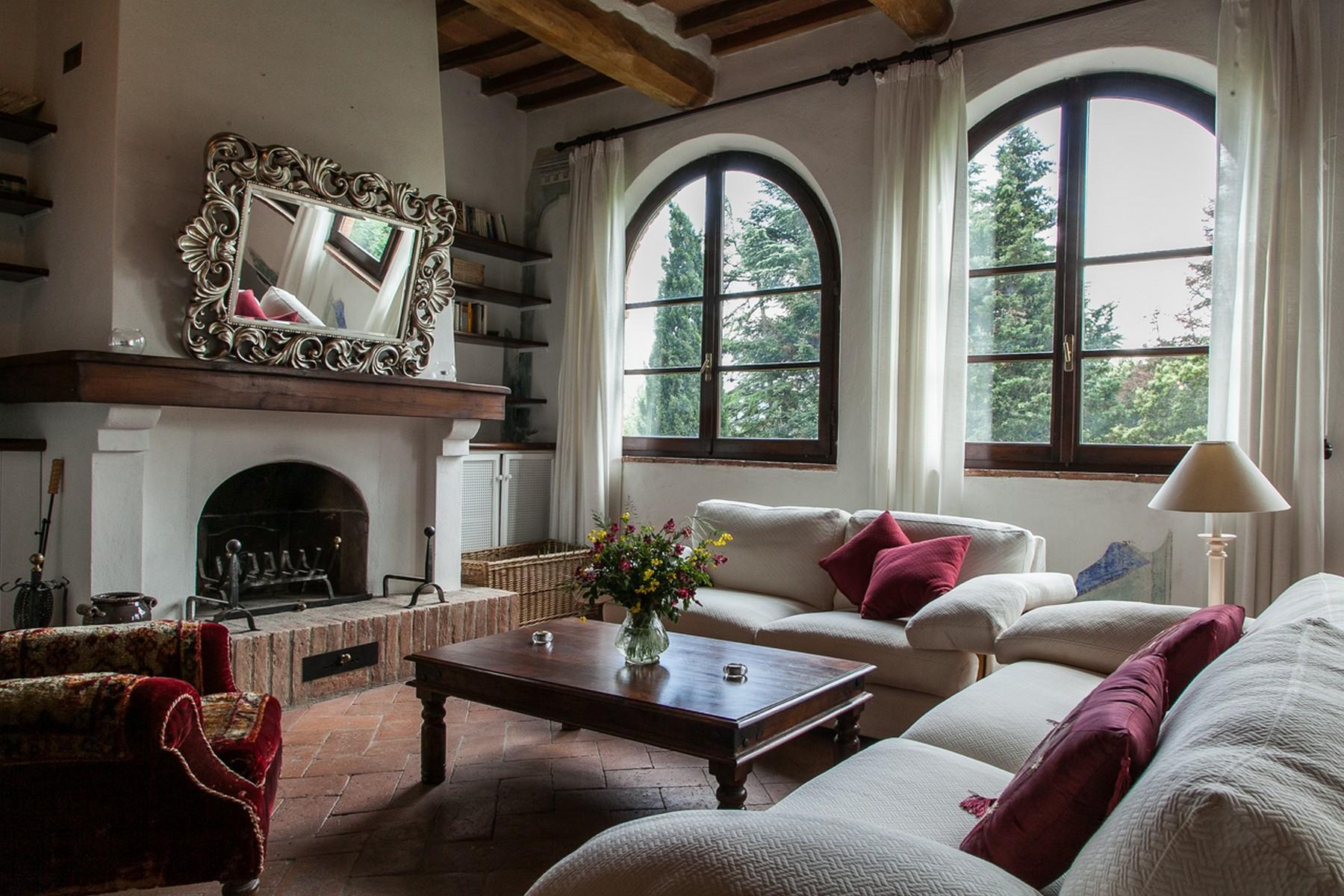 Прекрасное поместье XVI века на тосканских холмах. Италия - 1