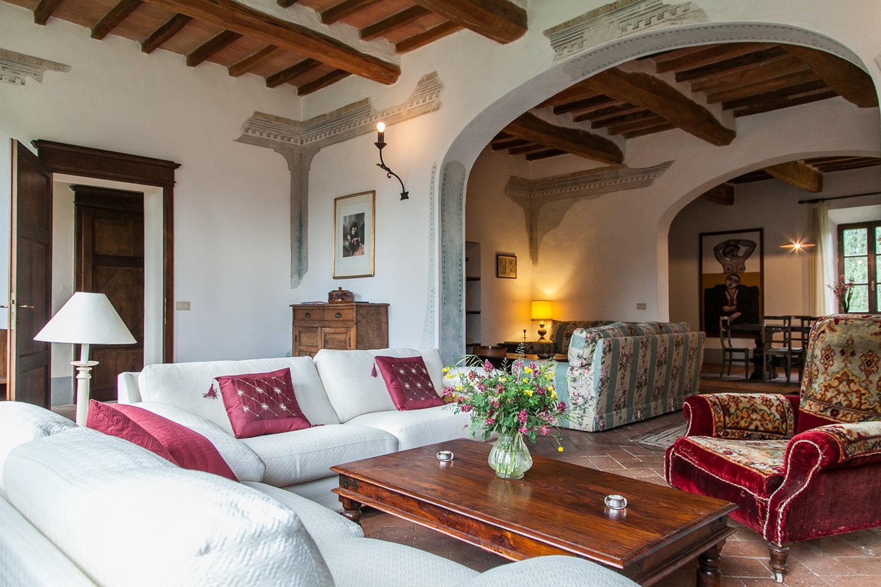 来自16世纪锡耶纳乡村优雅而古典的农舍 - 10