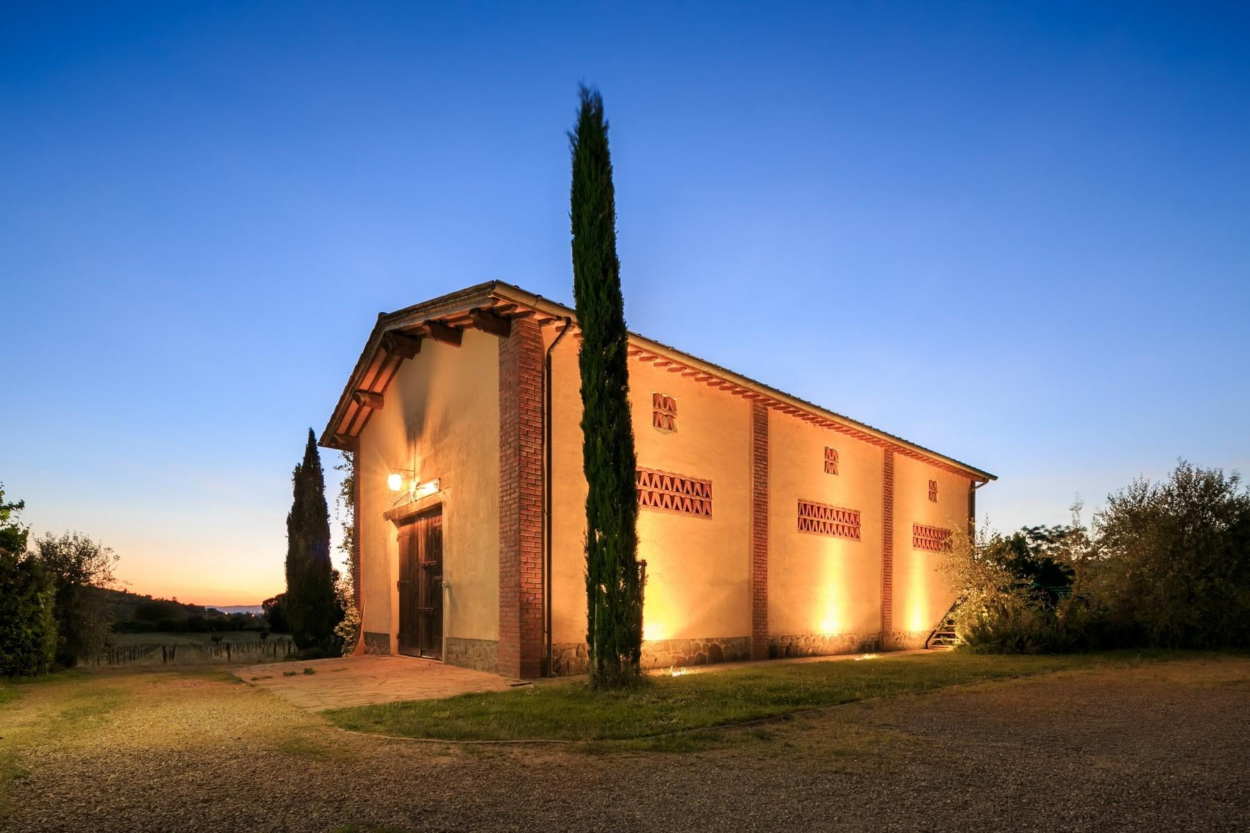 Agritourismo and Biodynamic farm in the heart of Tuscany with 15 ha of land. - 17