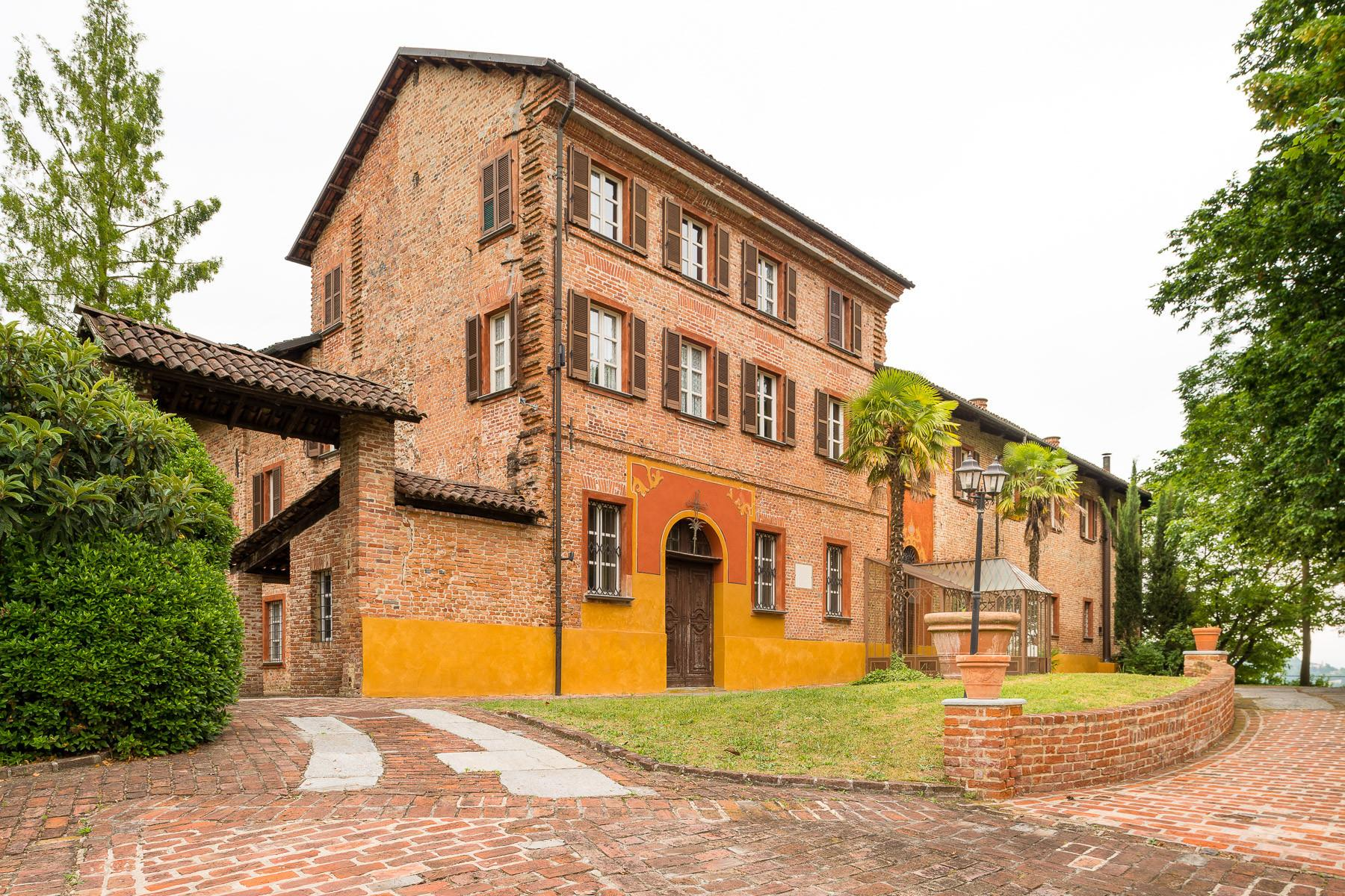 Historical mansion in the Asti hills - 20