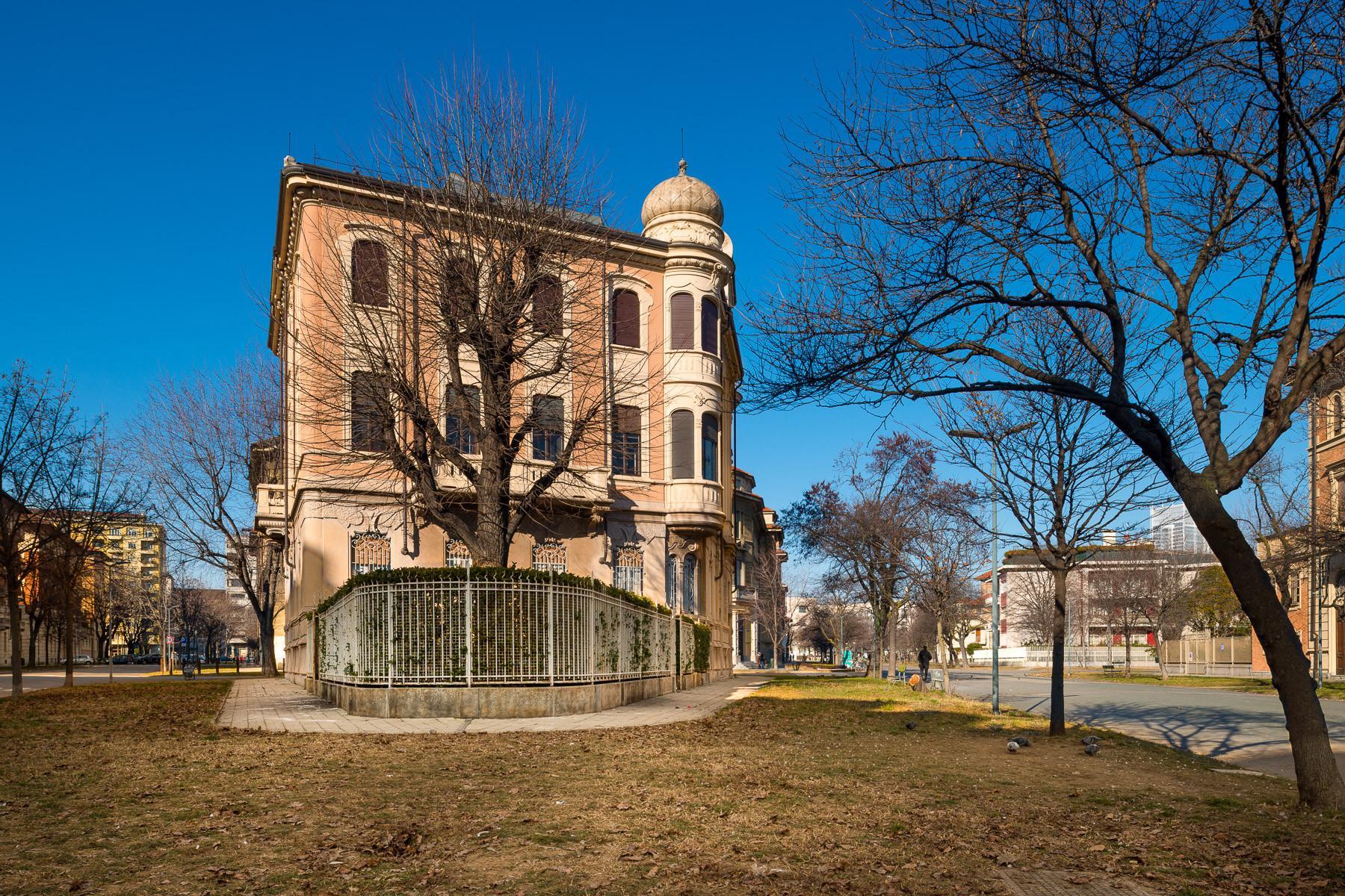 Luxuriöse Wohnung in einer Villa im Turin Stadtzentrum - 4
