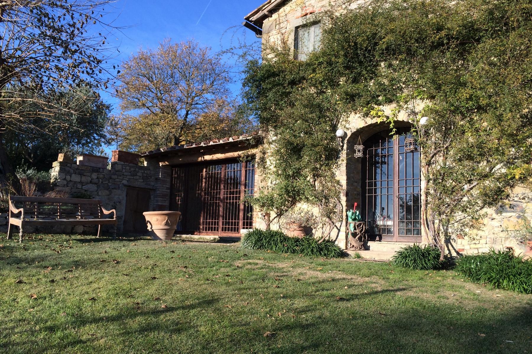 坐落于Chianti地区的绝美的农舍,且享有壮丽的景色和游泳池 - 5