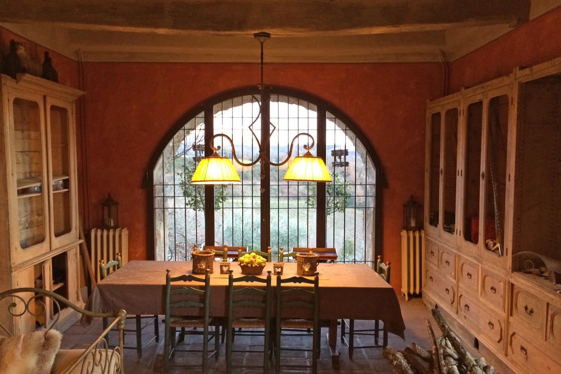 坐落于Chianti地区的绝美的农舍,且享有壮丽的景色和游泳池 - 7