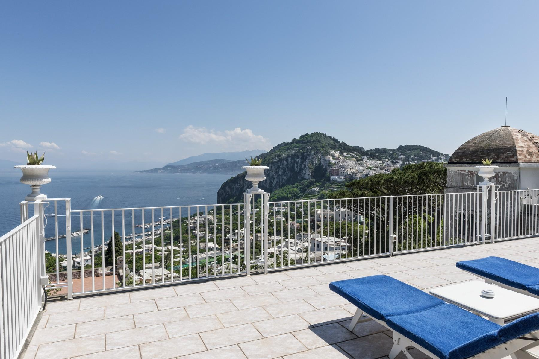 Amazing villa overlooking the sea and the most beautiful garden in the island - 5