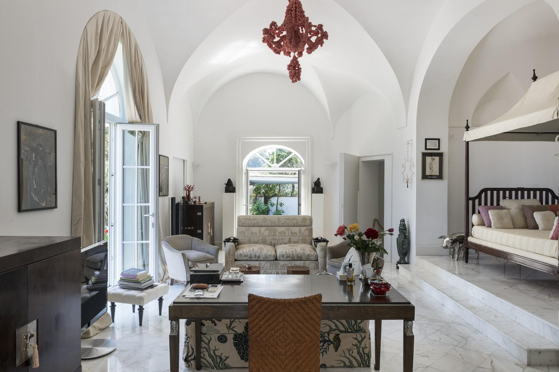 Amazing villa overlooking the sea and the most beautiful garden in the island - 14