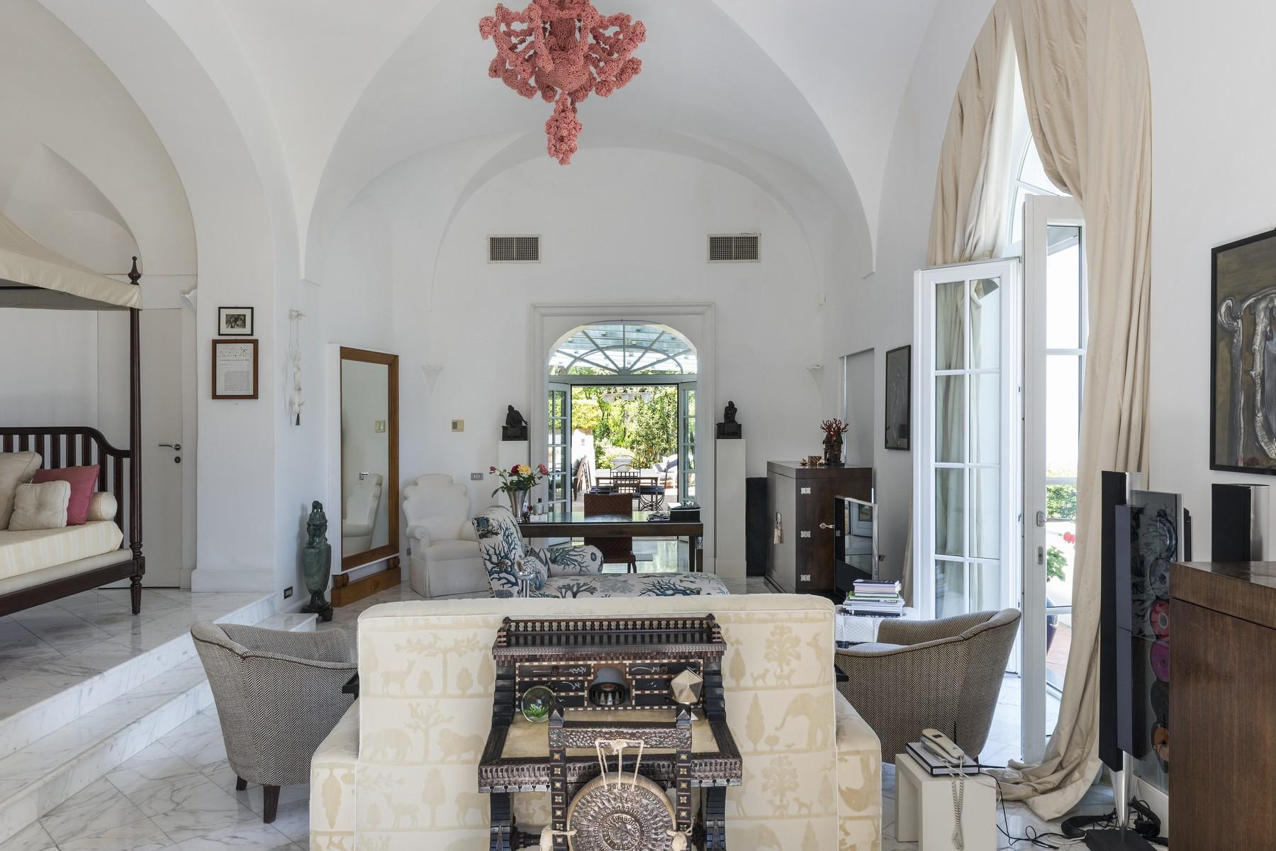 Amazing villa overlooking the sea and the most beautiful garden in the island - 15