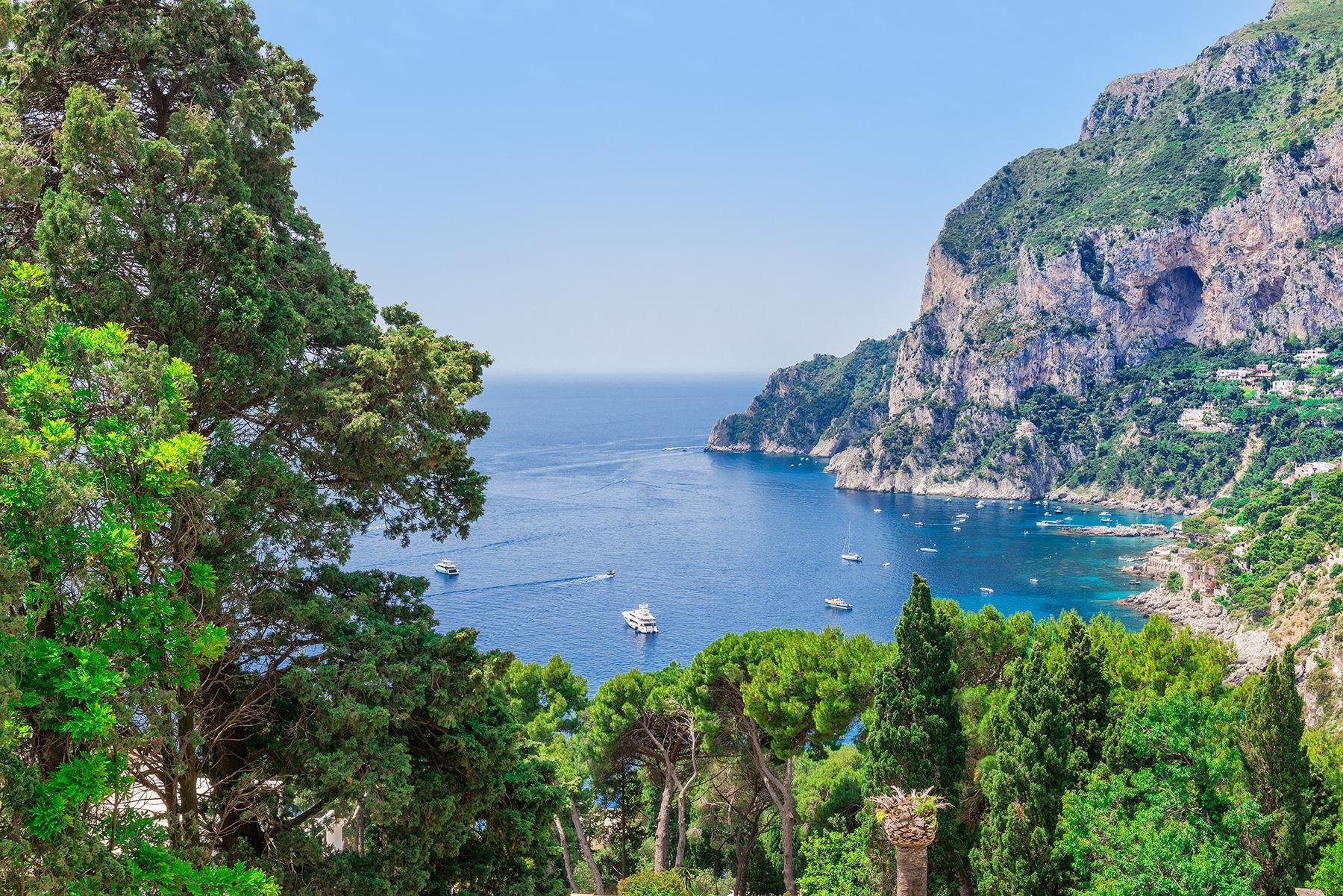 Capri岛中心的别墅 - 12