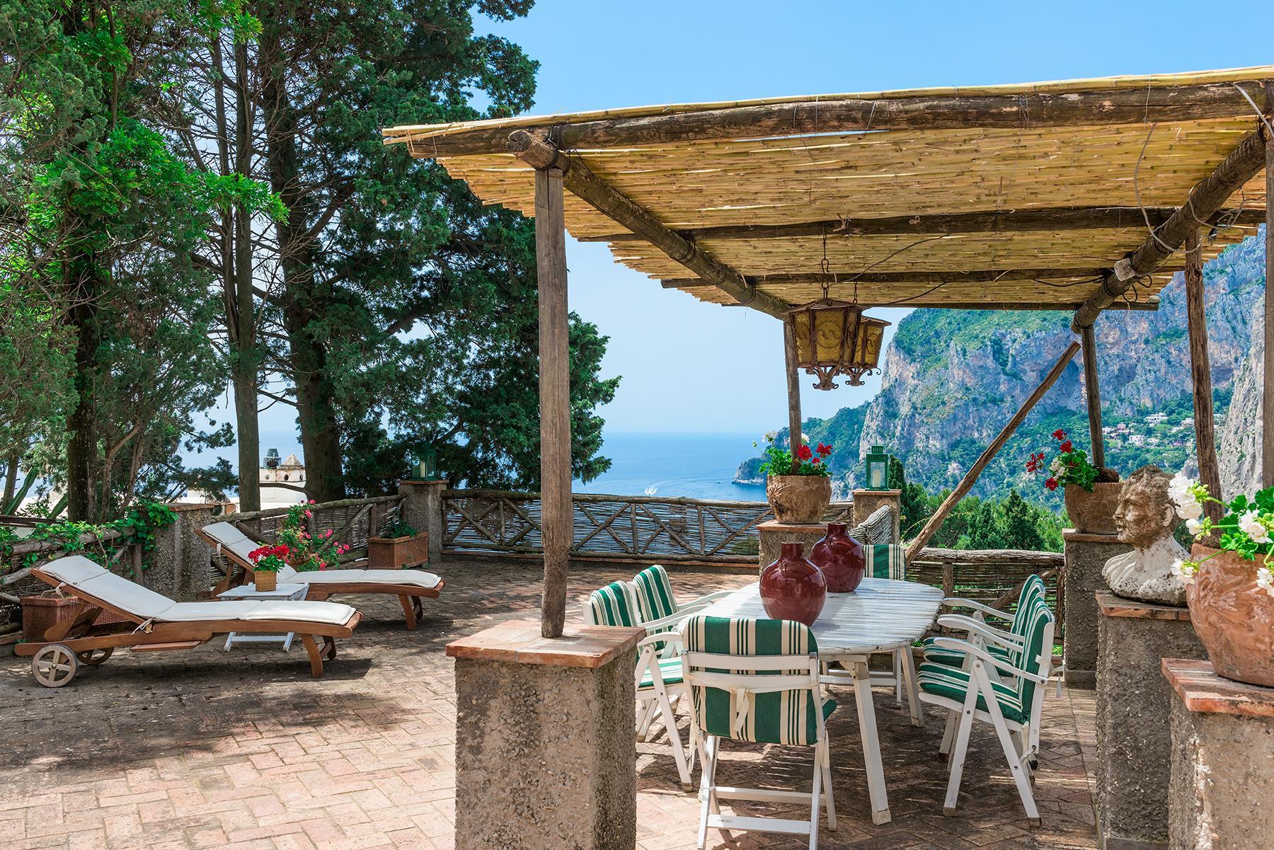 Capri岛中心的别墅 - 14