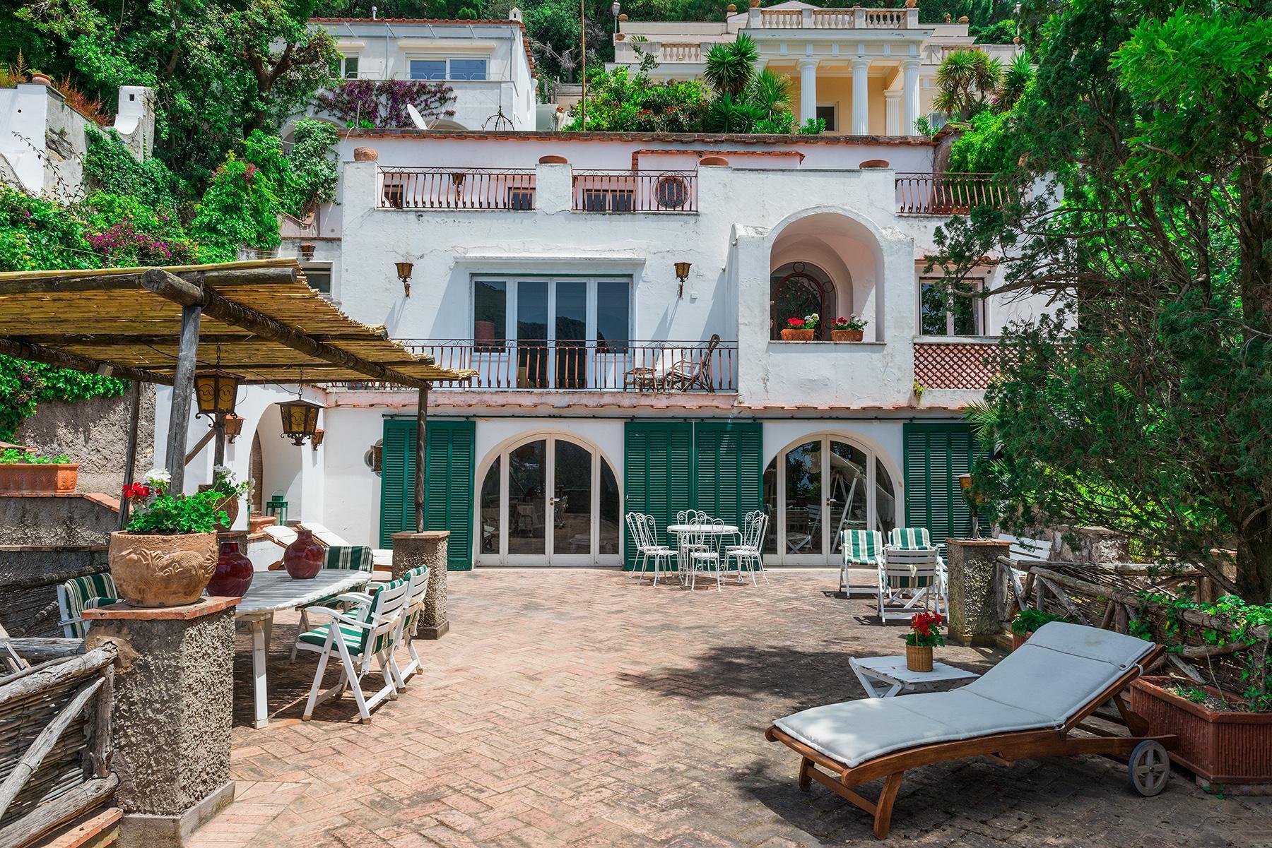 Capri岛中心的别墅 - 15
