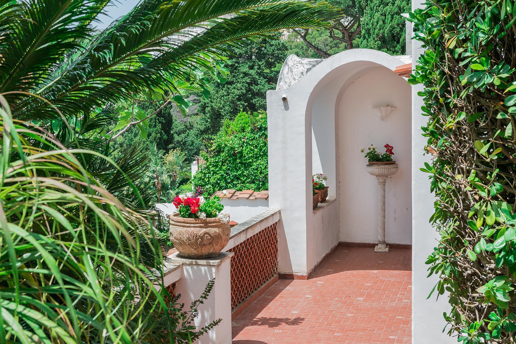 Capri岛中心的别墅 - 19