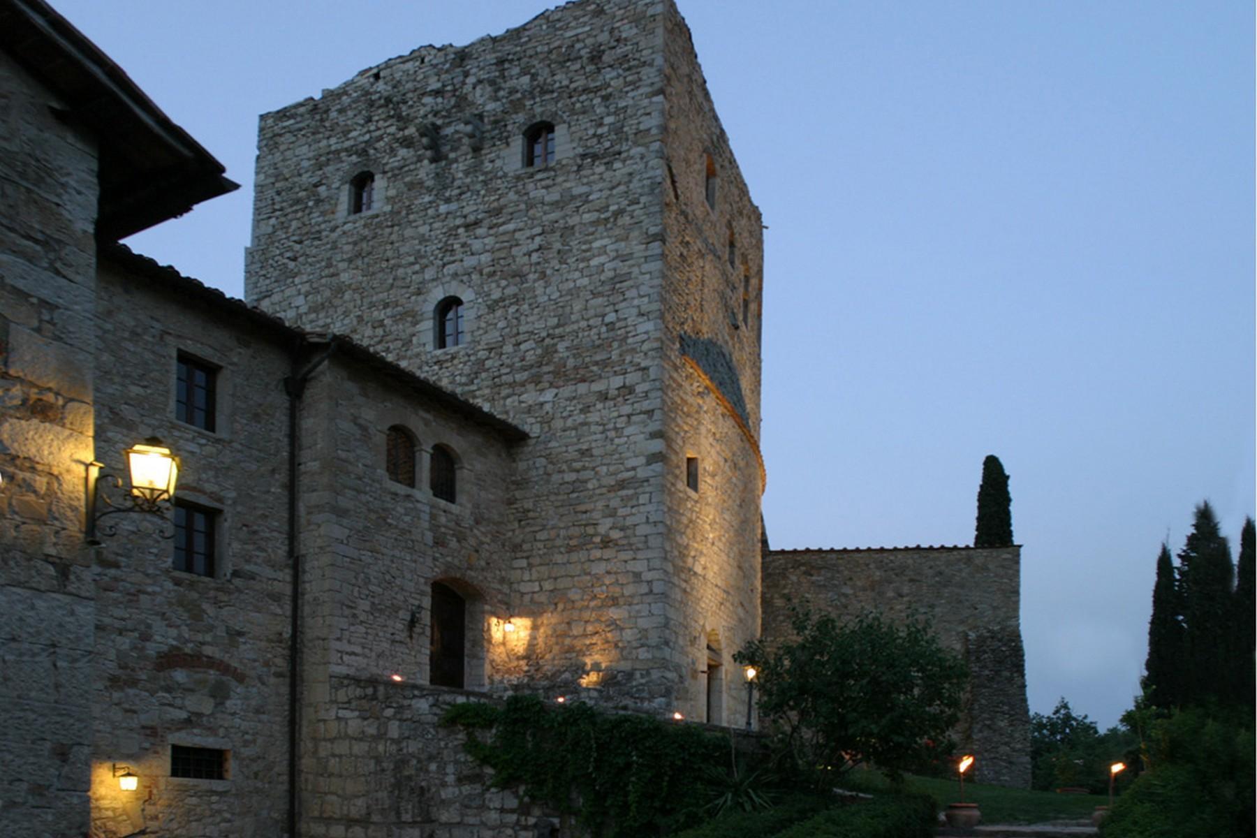 Exklusive Burg im Chianti Classico-Gebiet - 4