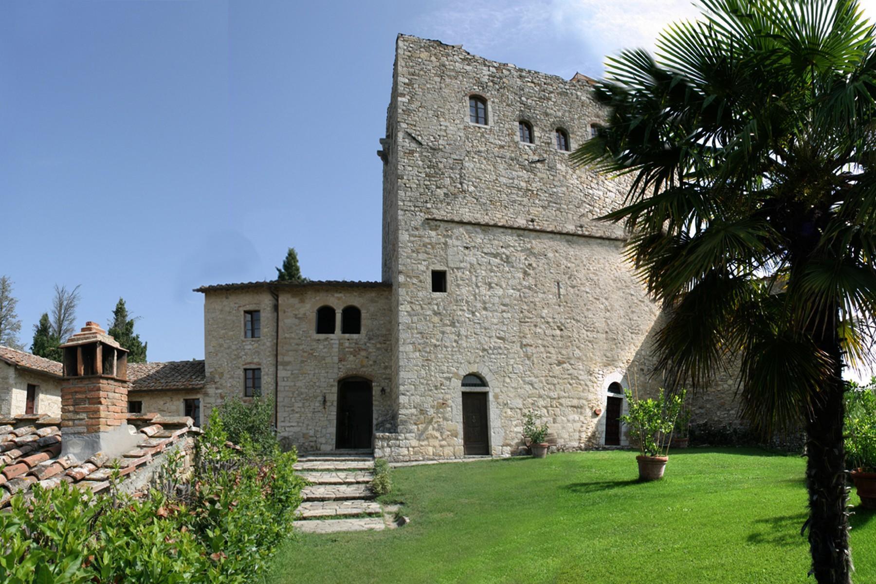 Exklusive Burg im Chianti Classico-Gebiet - 5