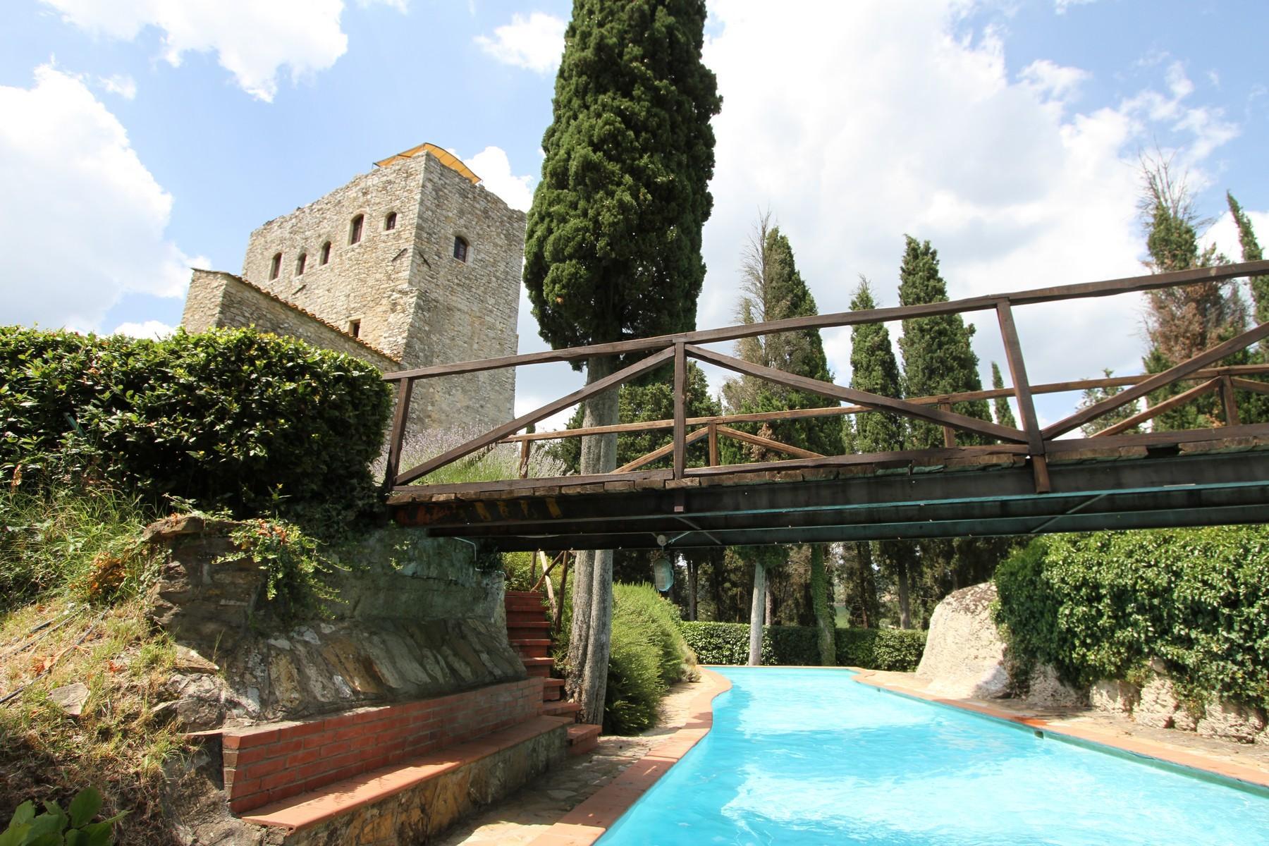 Exklusive Burg im Chianti Classico-Gebiet - 1