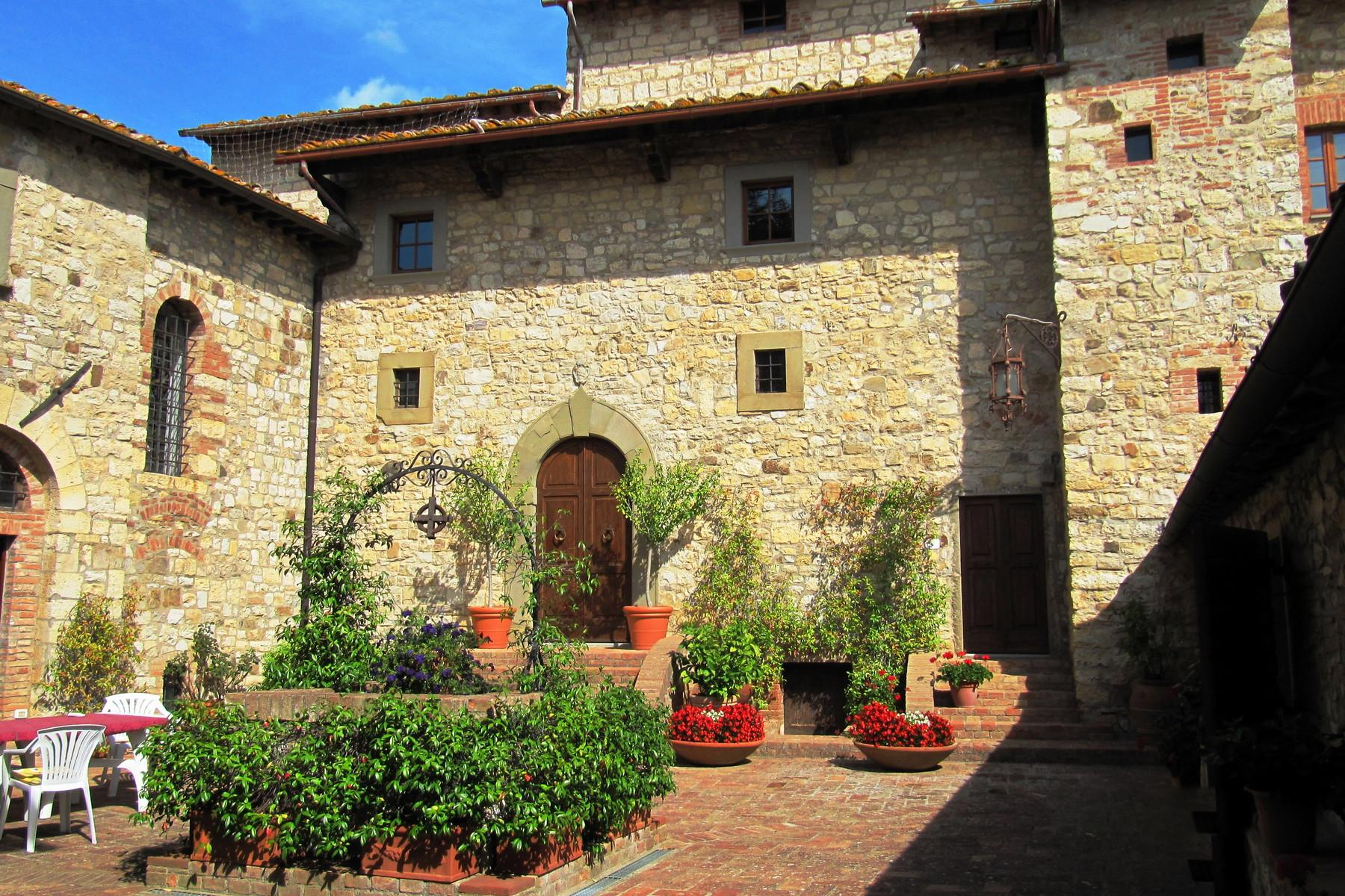 Historic castle with vineyard in 'Chianti' - 9