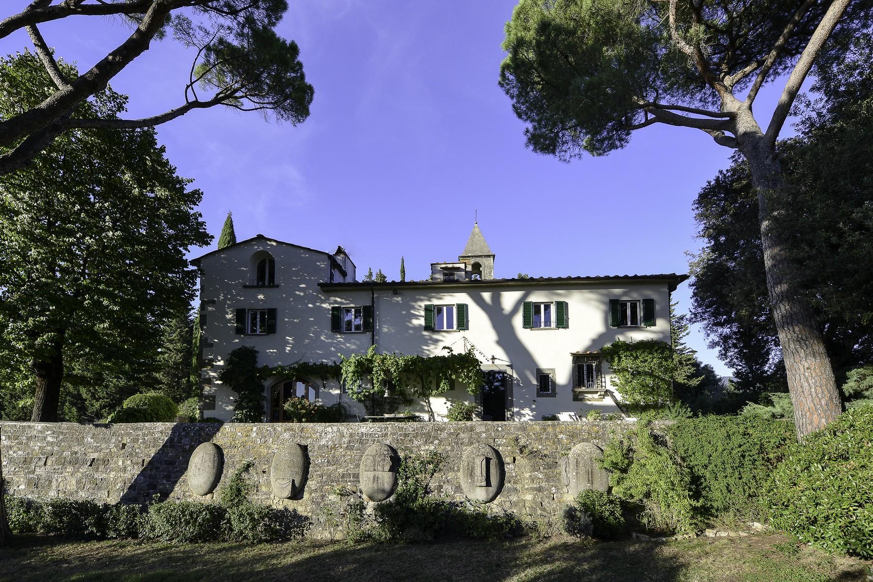 Wunderschöne Renaissance-Villa auf den Hügeln von Florenz - 3