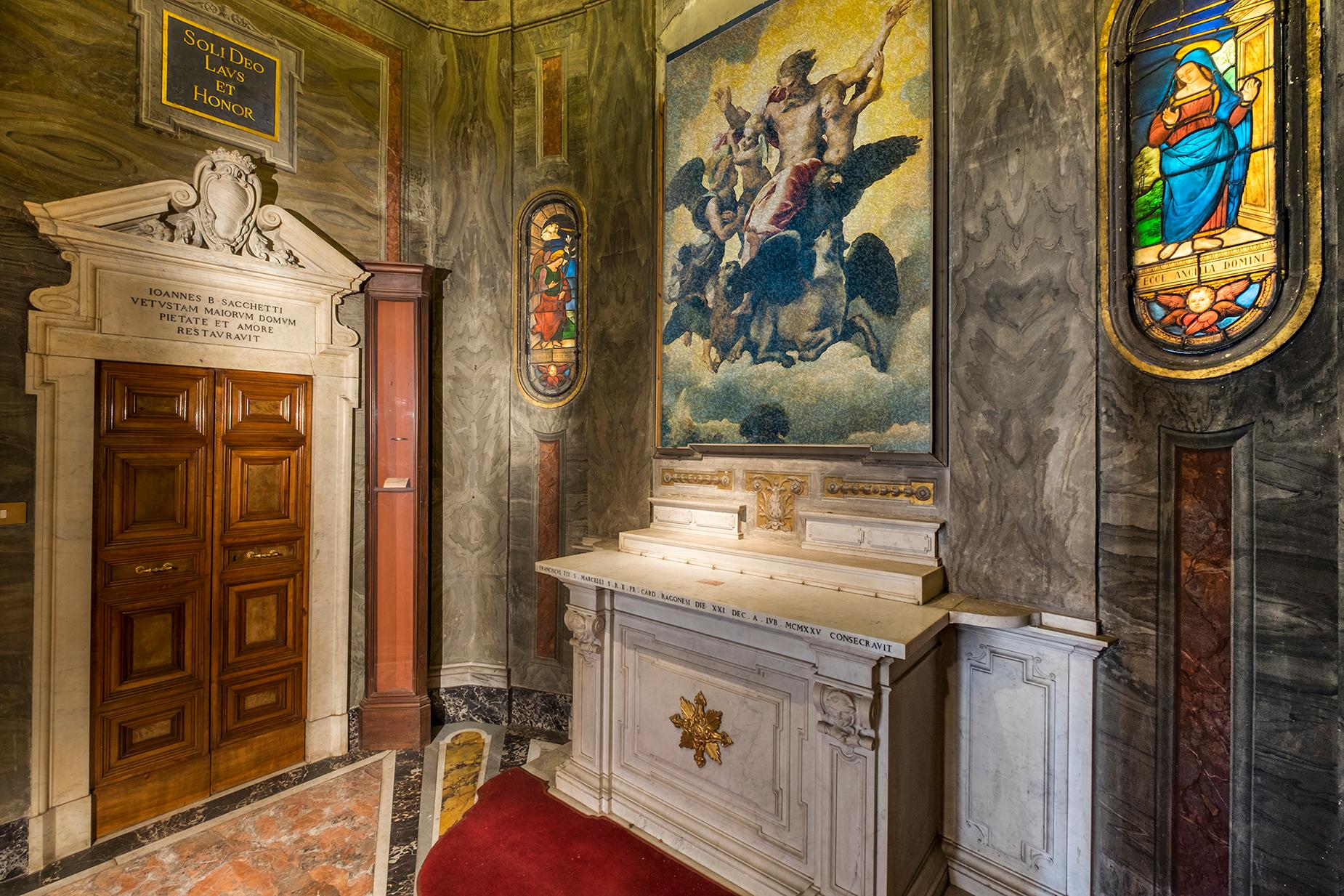 Palazzo Sacchetti, a pearl of the late reinassance in the heart of Rome - 25